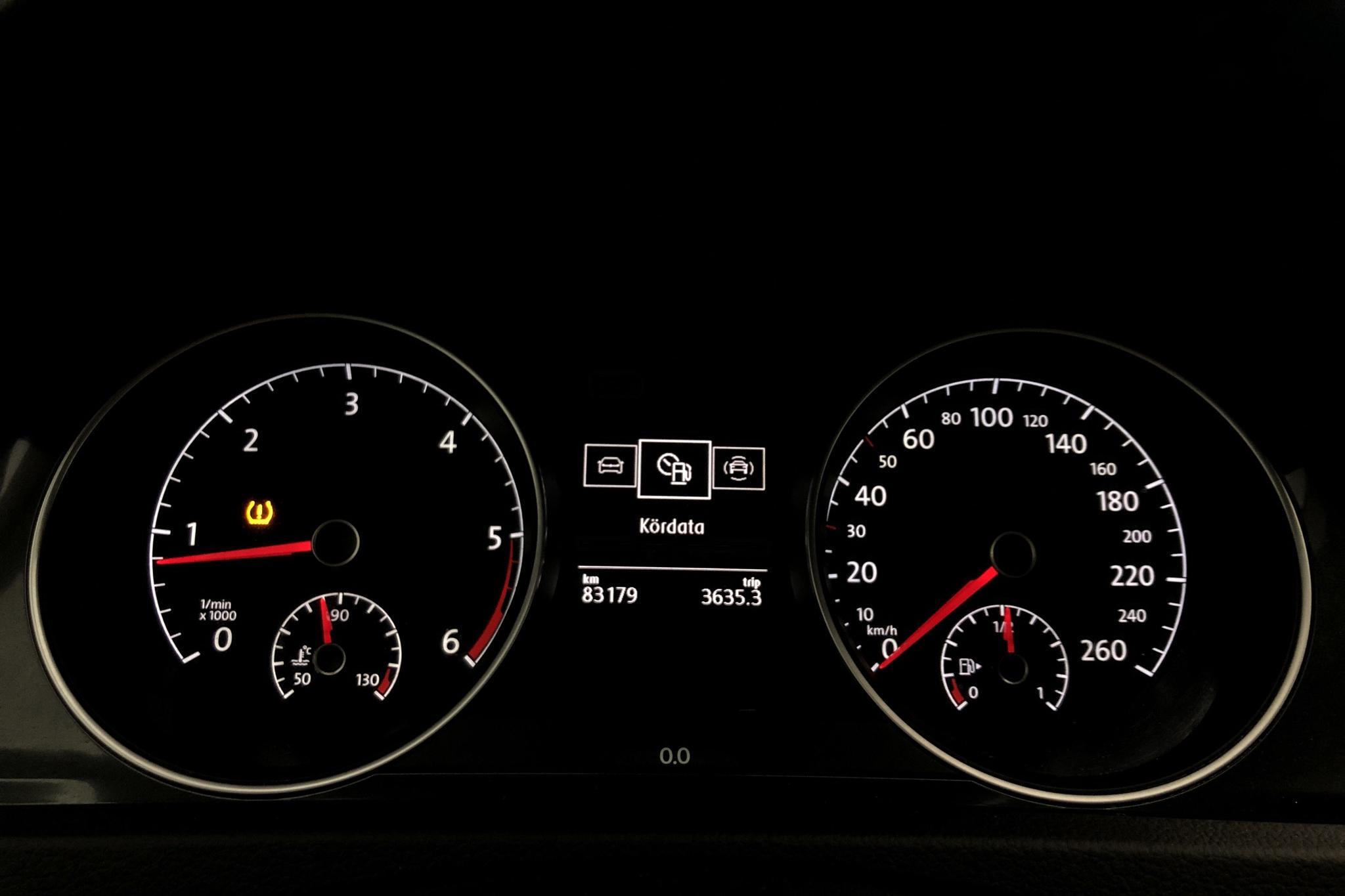 VW Golf VII 1.6 TDI 5dr (115hk) - 8 317 mil - Manuell - vit - 2018