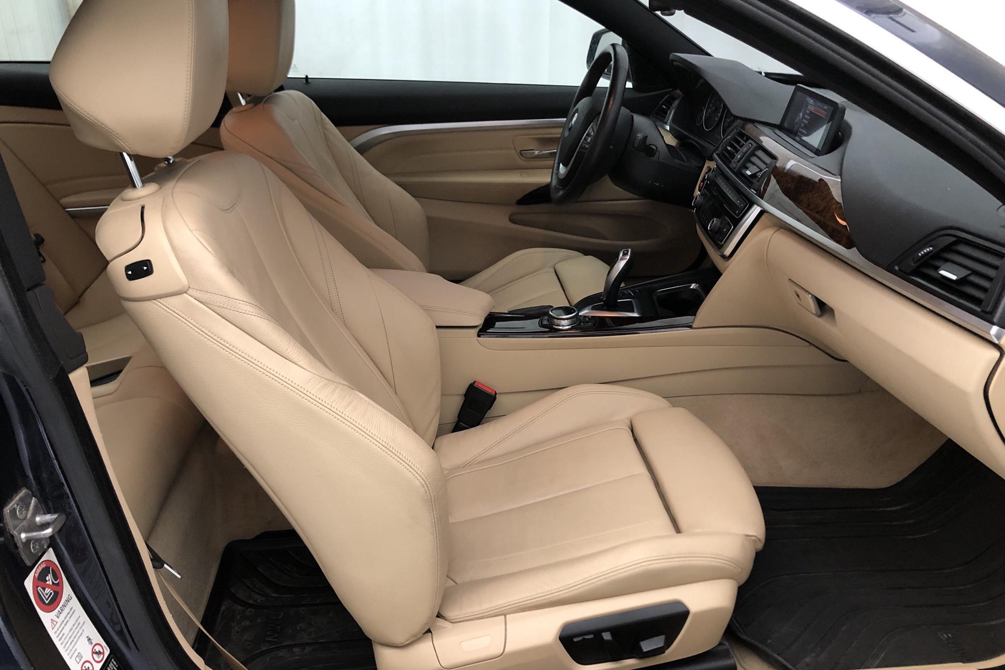 BMW 420d Coupé, F32 (184hk) - 129 380 km - Automatic - blue - 2014