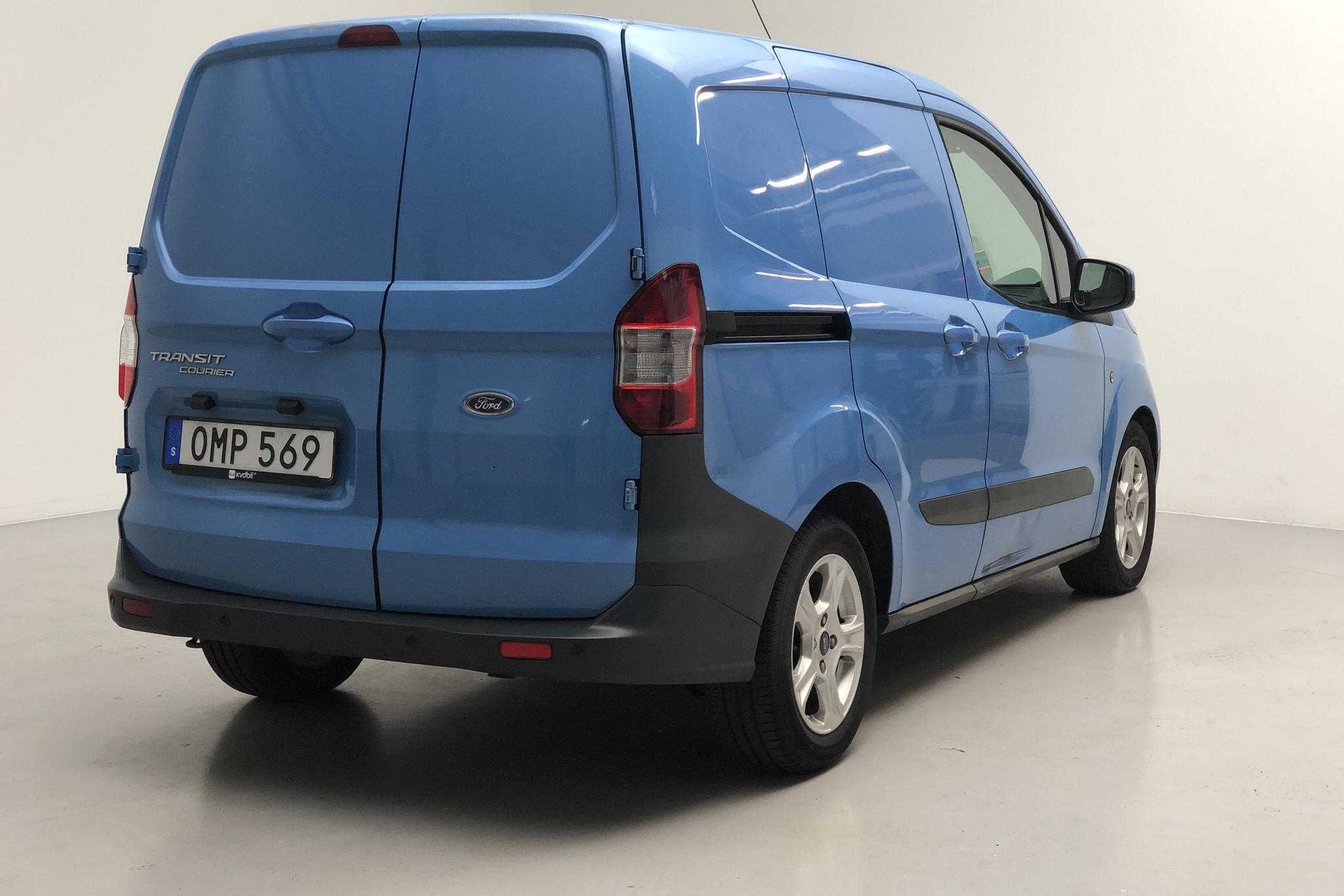 Ford Transit Courier 1.5 TDCI (75hk) - 120 020 km - Manual - blue - 2014