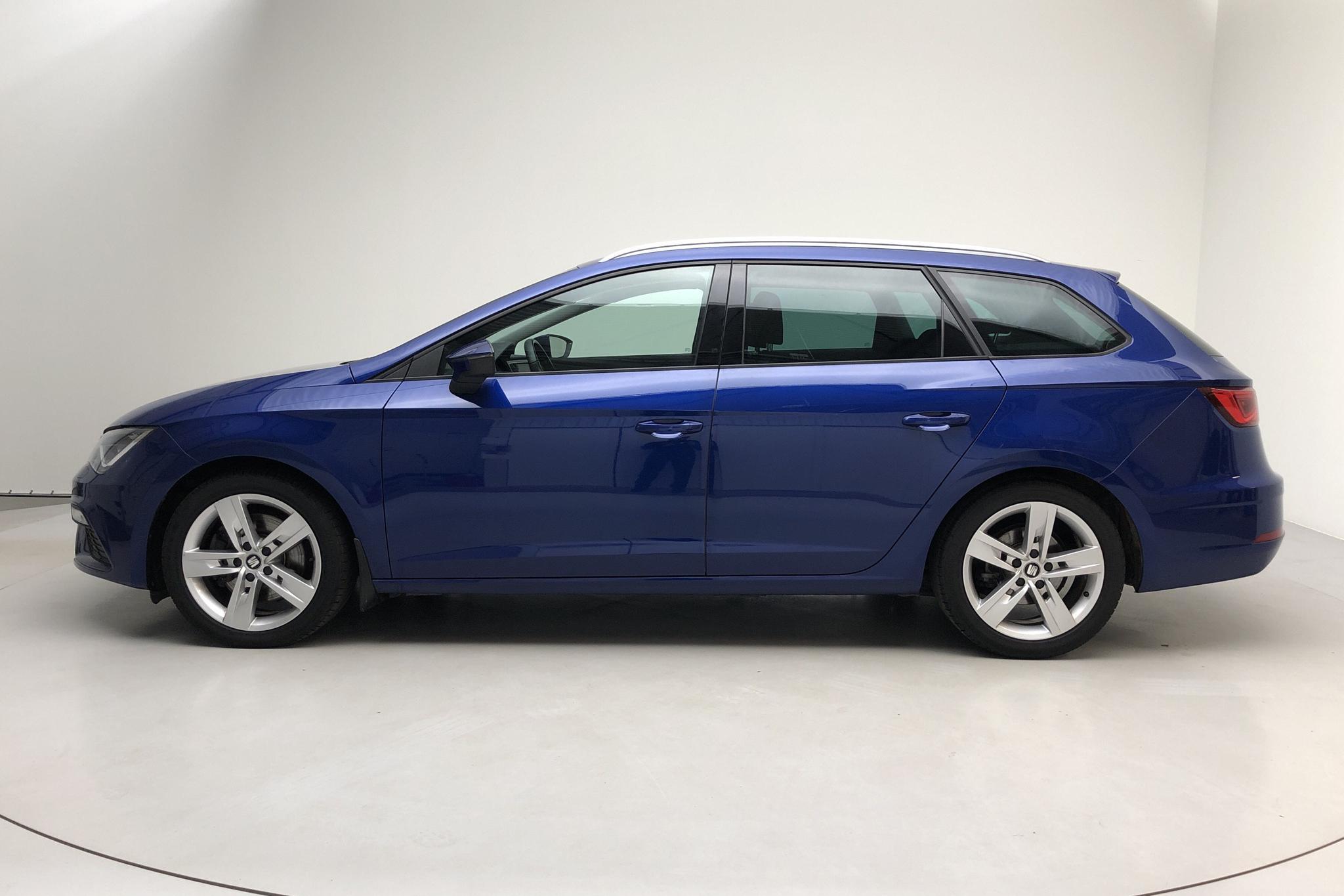 Seat Leon 2.0 TSI ST (190hk) - 29 310 km - Automatic - blue - 2019
