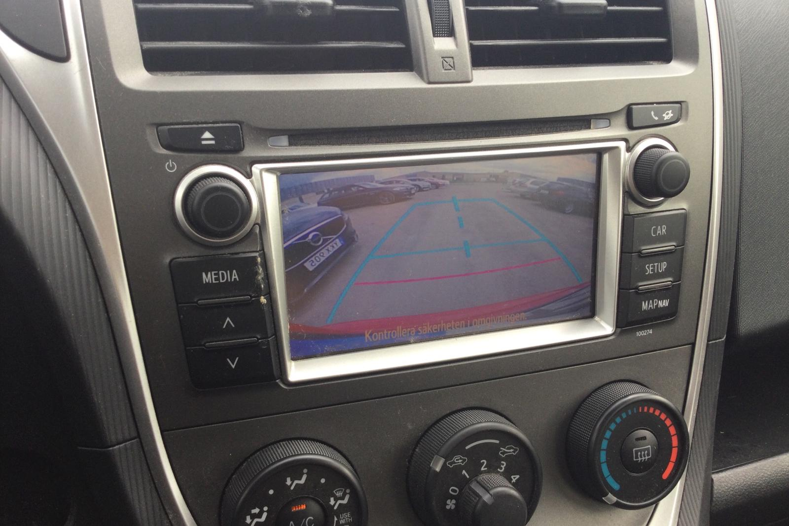 Toyota Verso S 1.33 (99hk) - 4 883 mil - Automat - röd - 2014