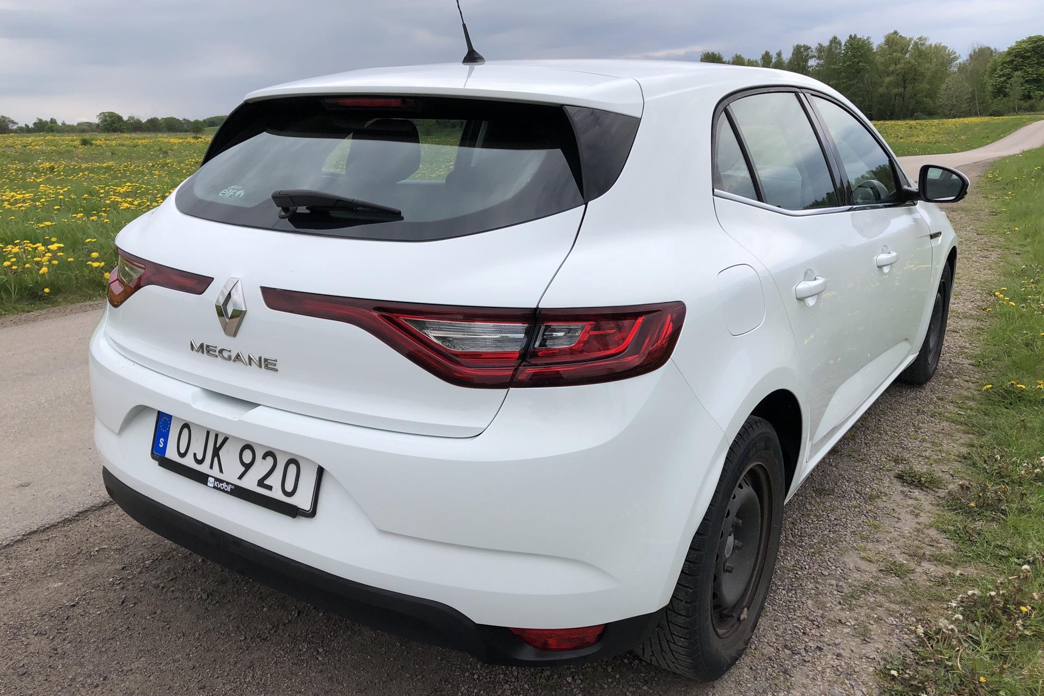 Renault Mégane 1.5 dCi 5dr (110hk) - 8 585 mil - Manuell - vit - 2017