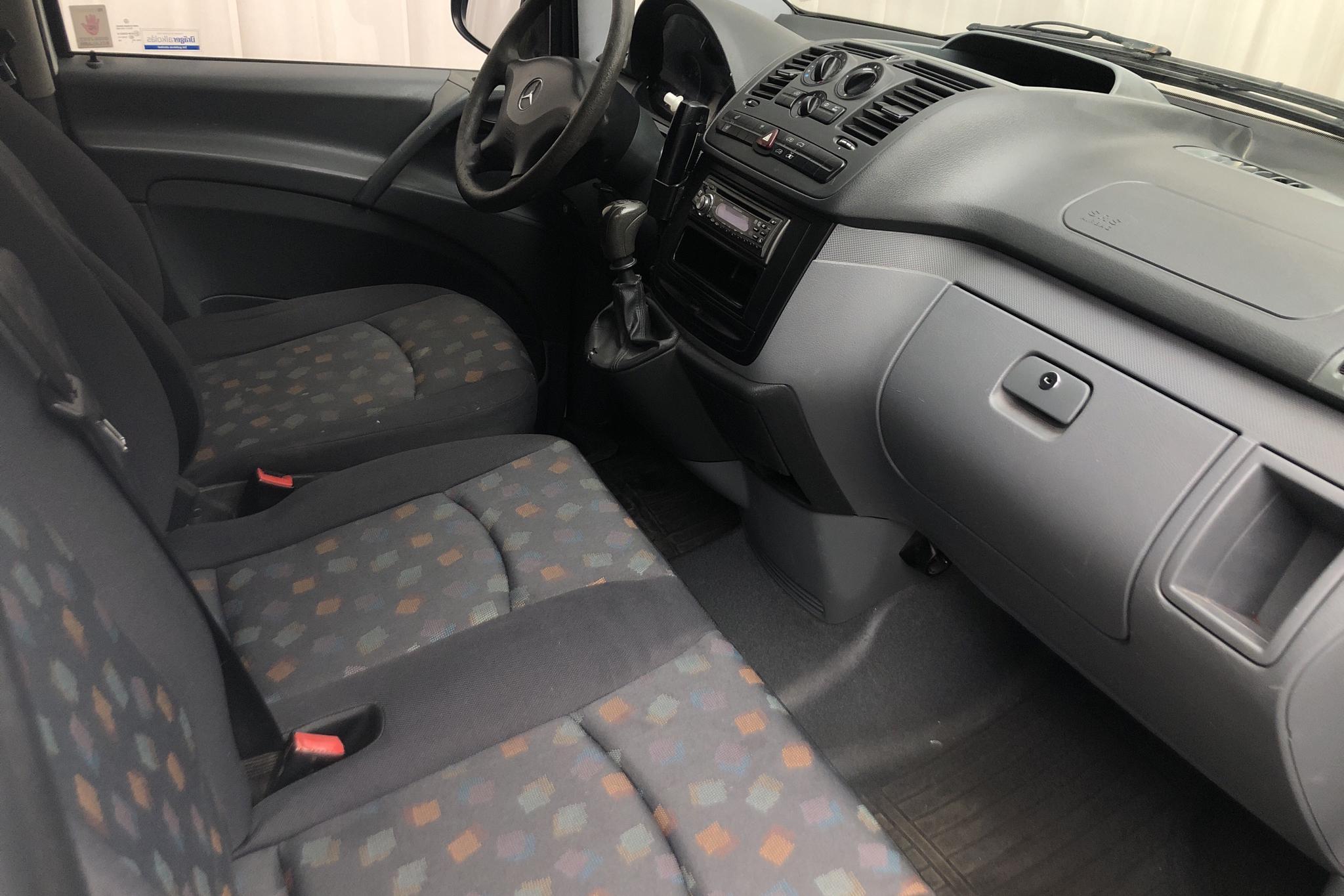 Mercedes Vito 111 CDI Skåp W639 (116hk) - 199 390 km - Manual - white - 2008