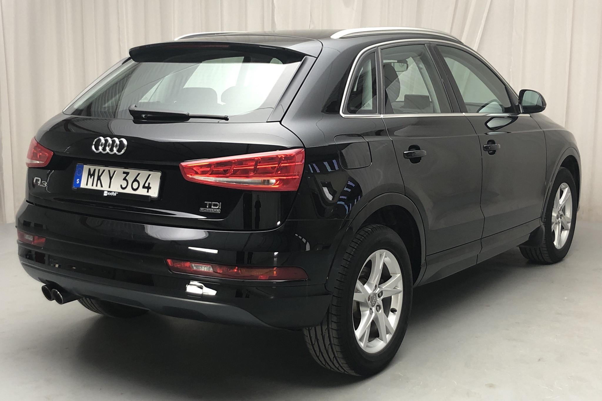 Audi Q3 2.0 TDI quattro (150hk) - 51 090 km - Manual - black - 2018