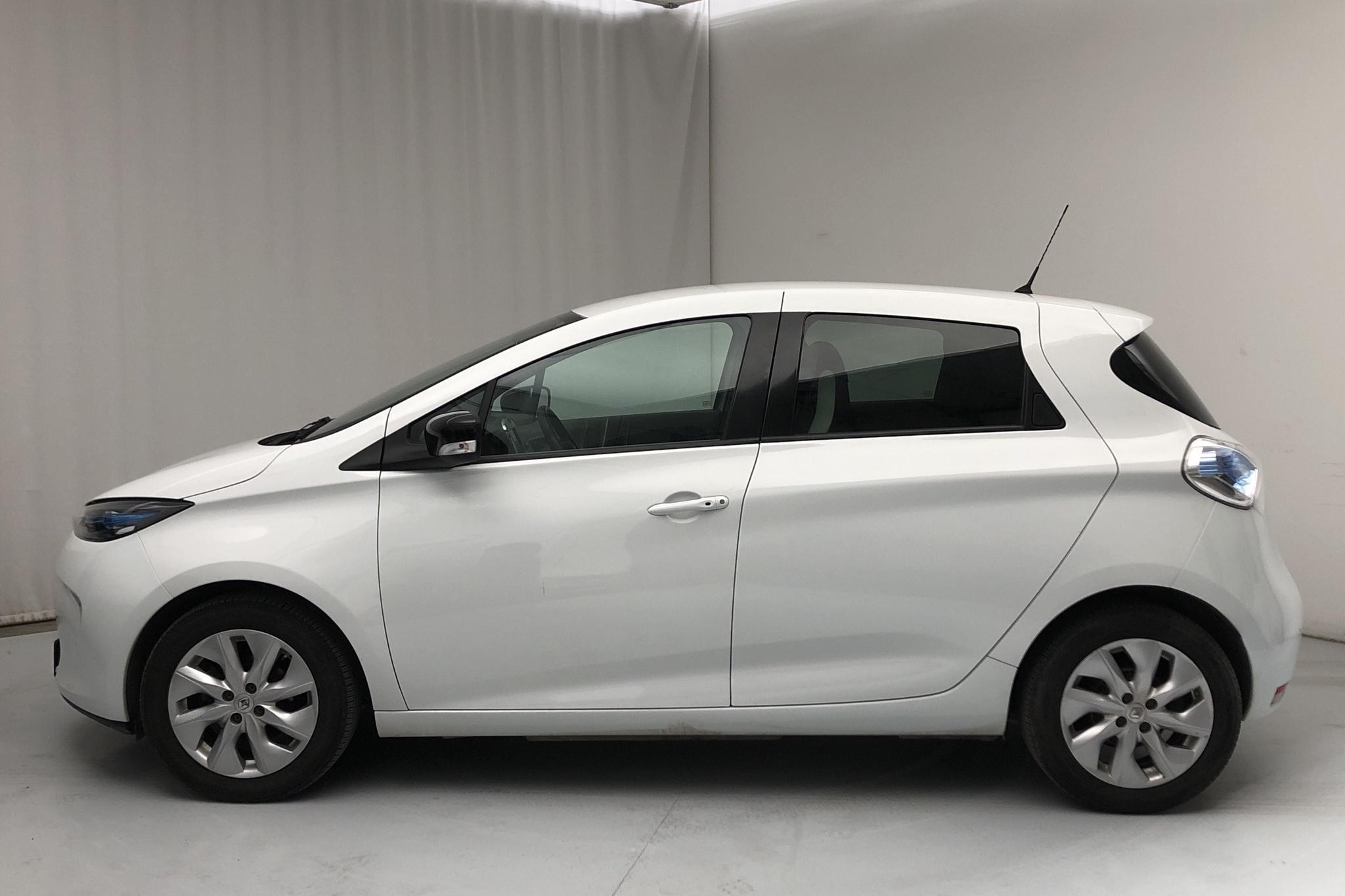 Renault Zoe 22 kWh (88hk) - 3 952 mil - Automat - vit - 2017