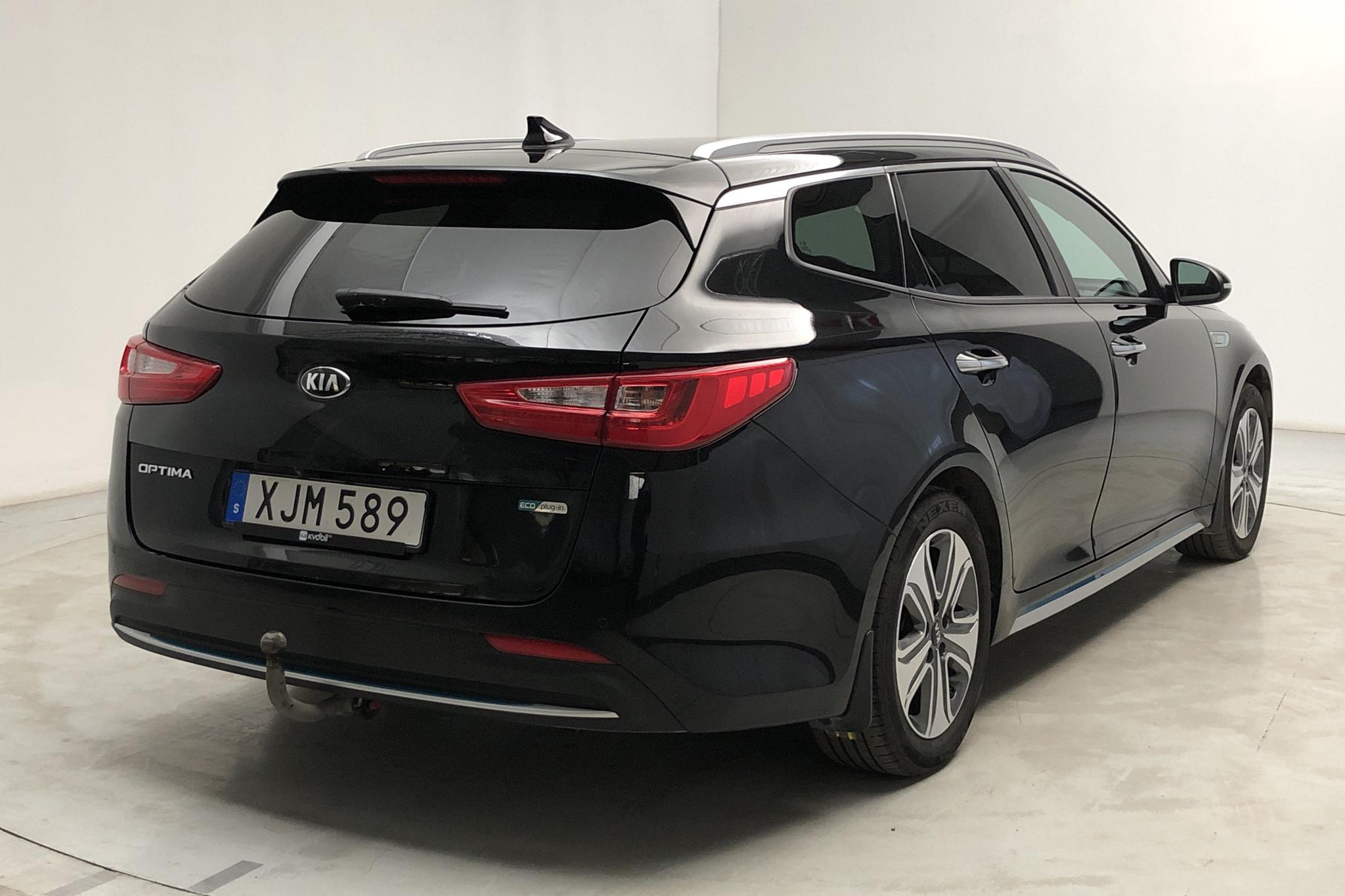 KIA Optima 2.0 GDi Plug-in Hybrid SW (205hk) - 118 810 km - Automatic - black - 2018