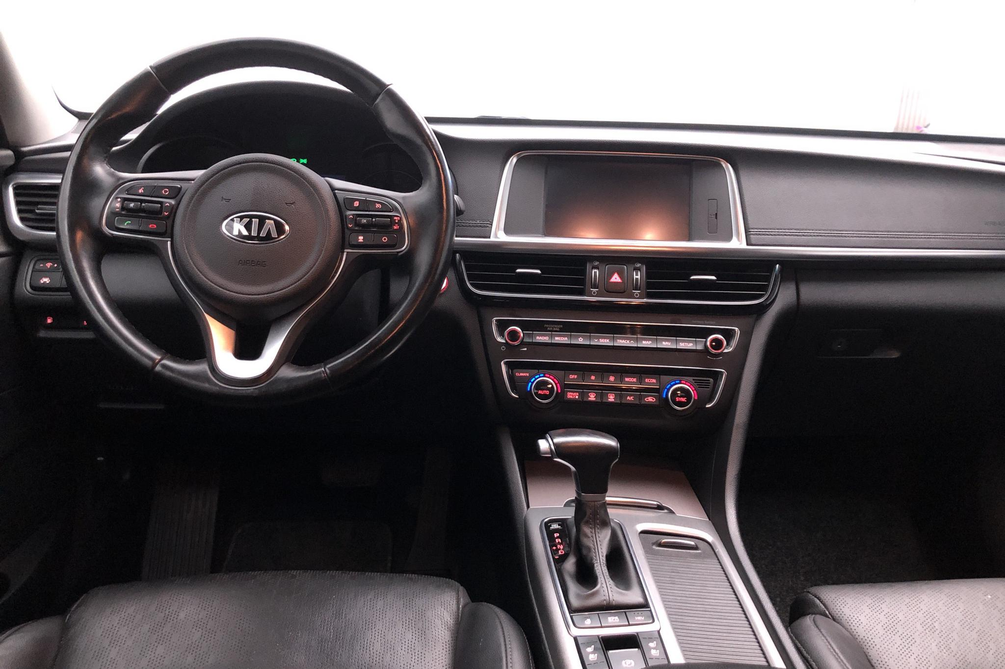 KIA Optima 2.0 GDi Plug-in Hybrid SW (205hk) - 11 881 mil - Automat - svart - 2018