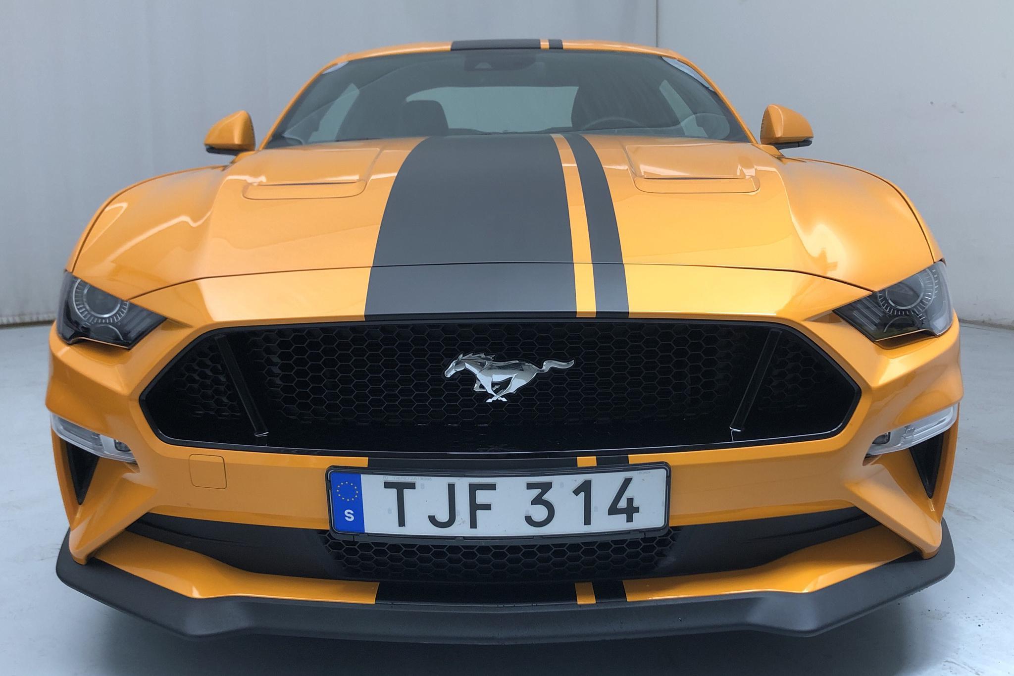 Ford Mustang GT V8 Fastback (450hk) - 8 980 km - Automatic - orange - 2018