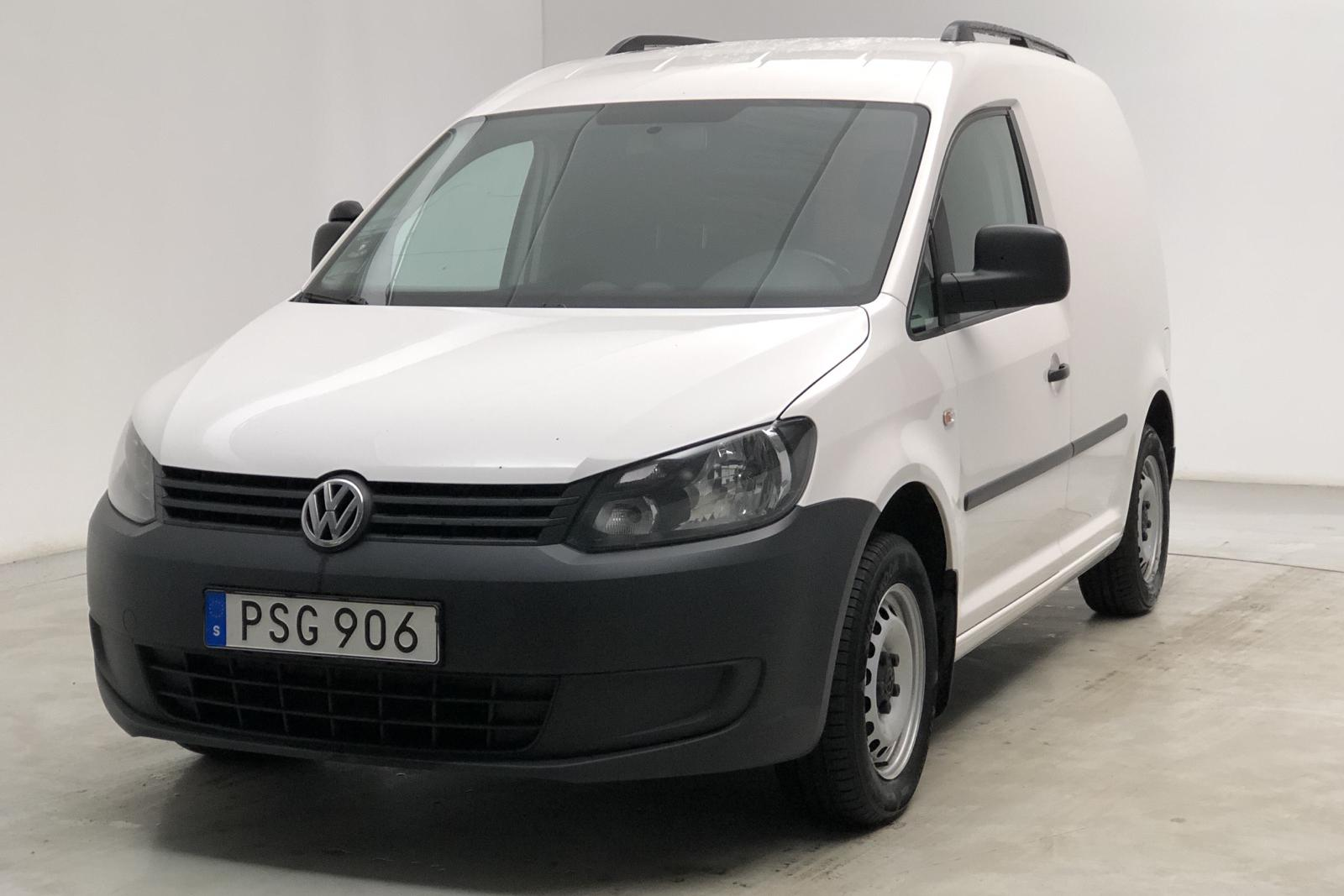 VW Caddy 1.6 TDI Skåp (102hk) - 11 127 mil - Automat - vit - 2015