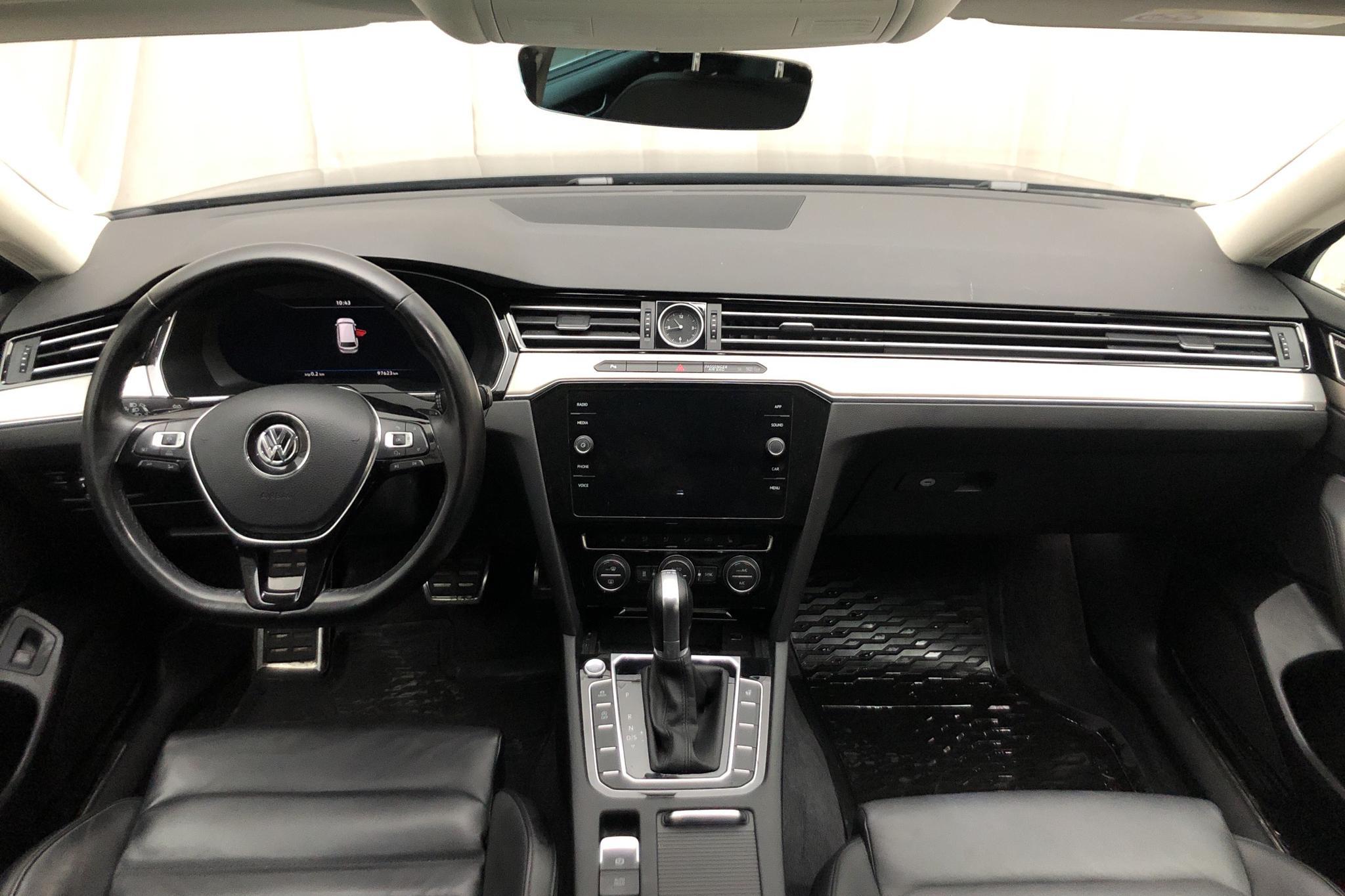 VW Passat Alltrack 2.0 TDI Sportscombi 4MOTION (190hk) - 97 620 km - Automatic - Dark Grey - 2018