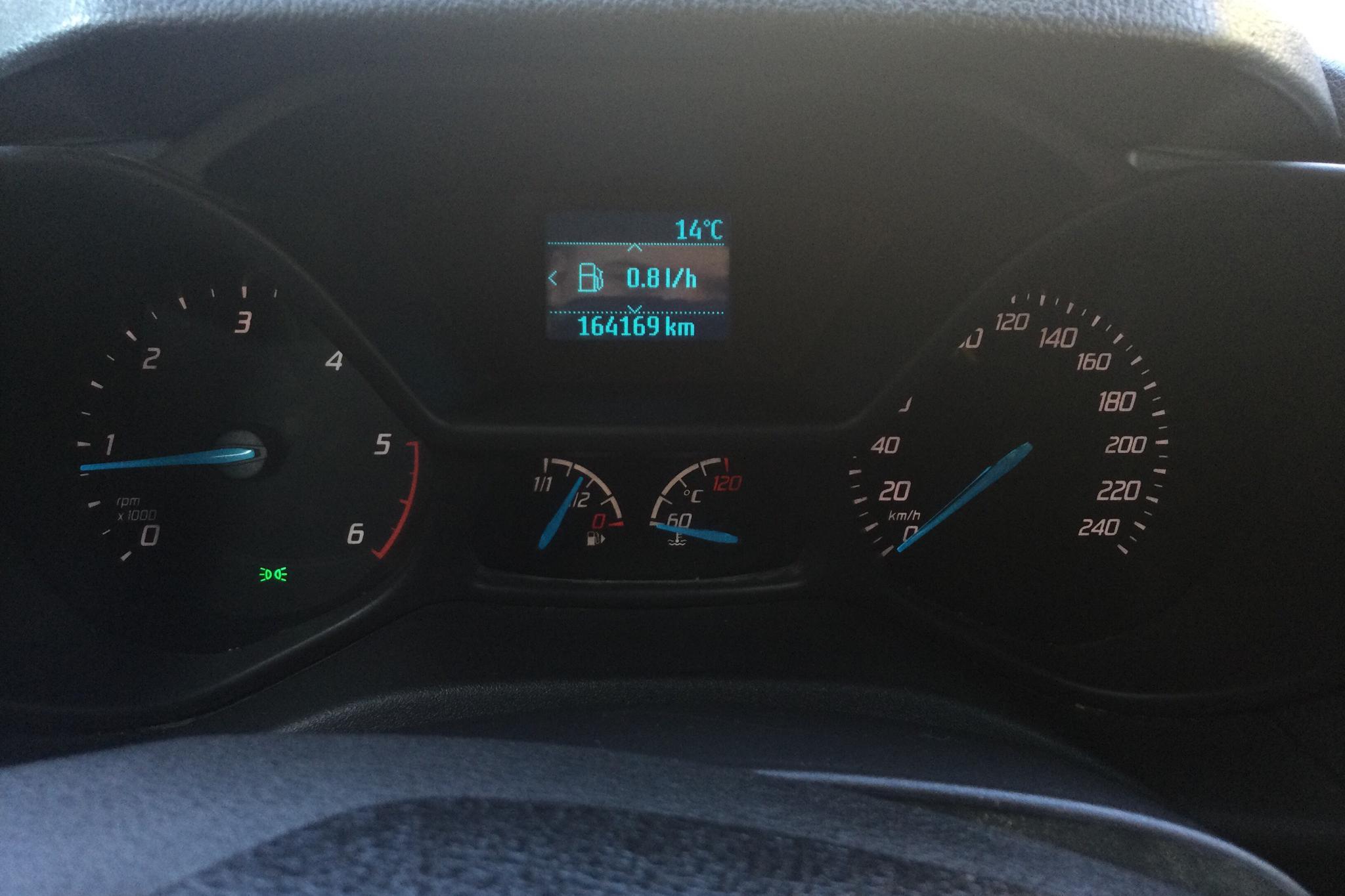 Ford Transit Connect 1.6 TDCi (115hk) - 16 416 mil - Manuell - blå - 2014