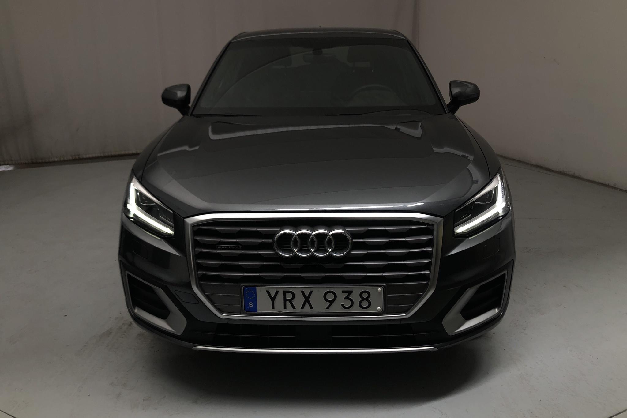 Audi Q2 2.0 TDI quattro (150hk) - 4 422 mil - Automat - grå - 2018