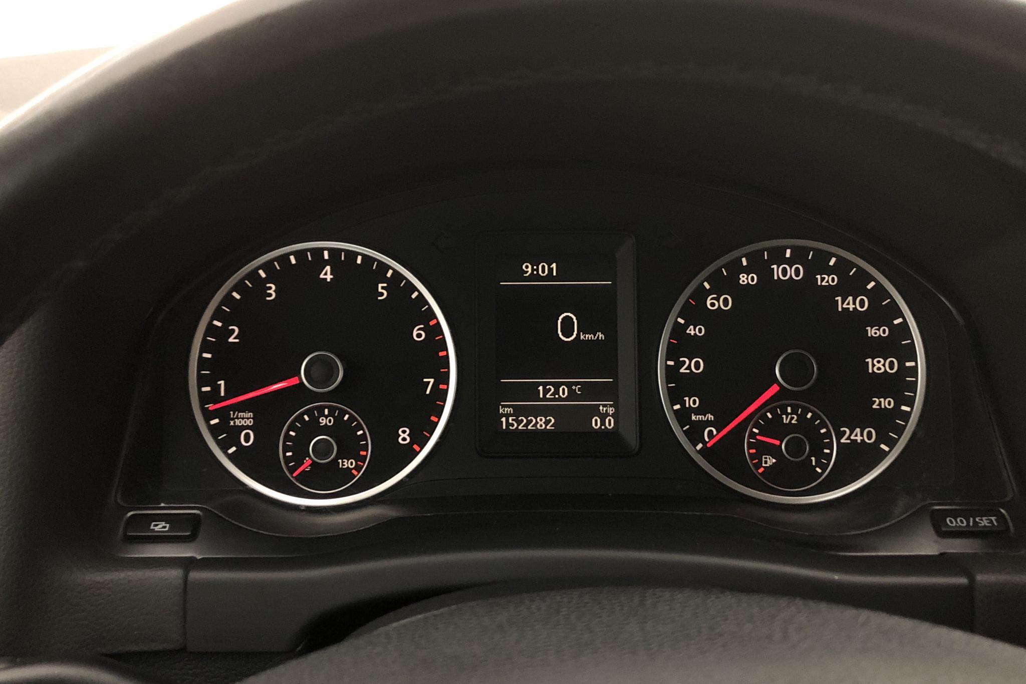 VW Tiguan 1.4 TSI (150hk) - 15 227 mil - Manuell - blå - 2010