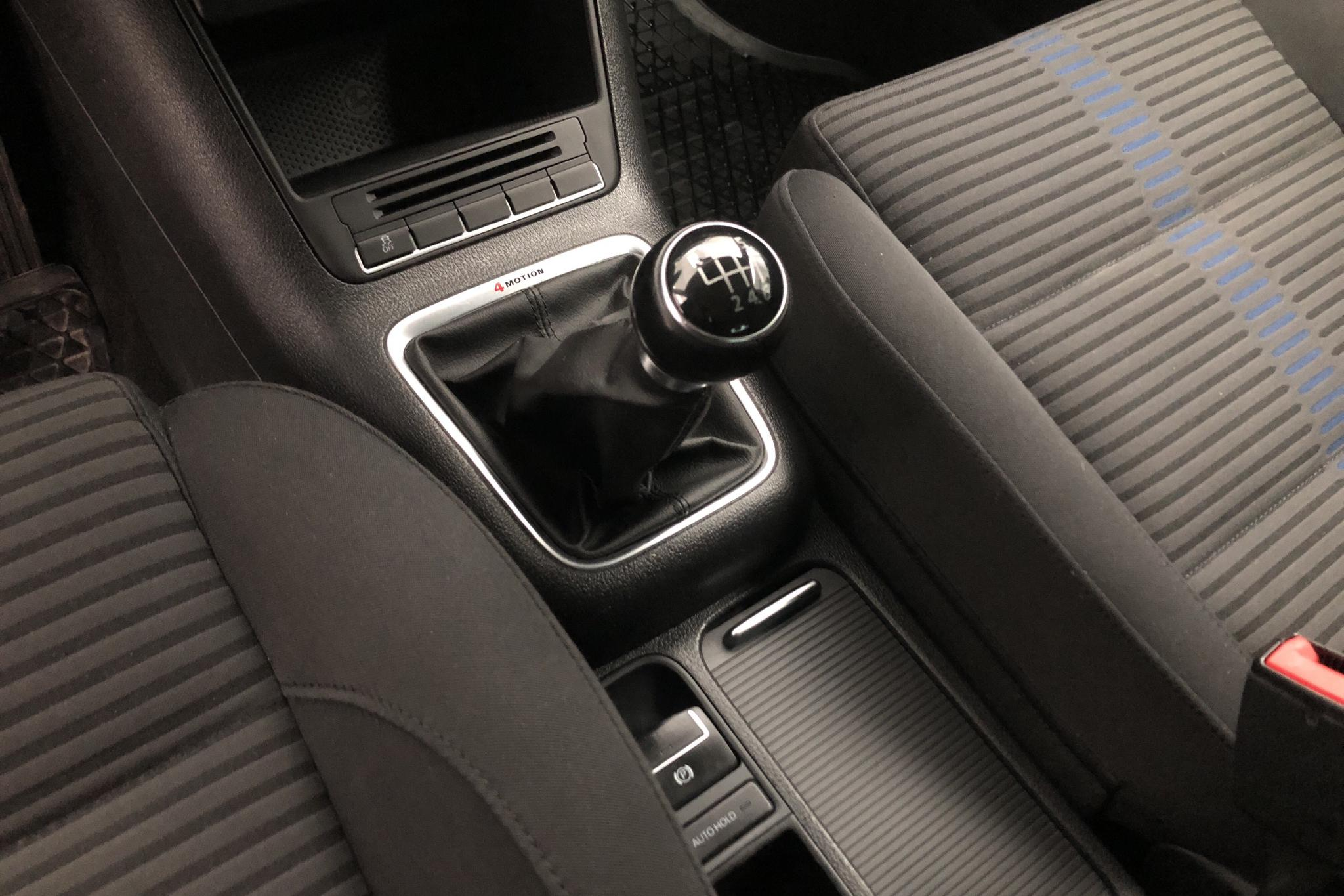 VW Tiguan 1.4 TSI (150hk) - 152 270 km - Manual - blue - 2010