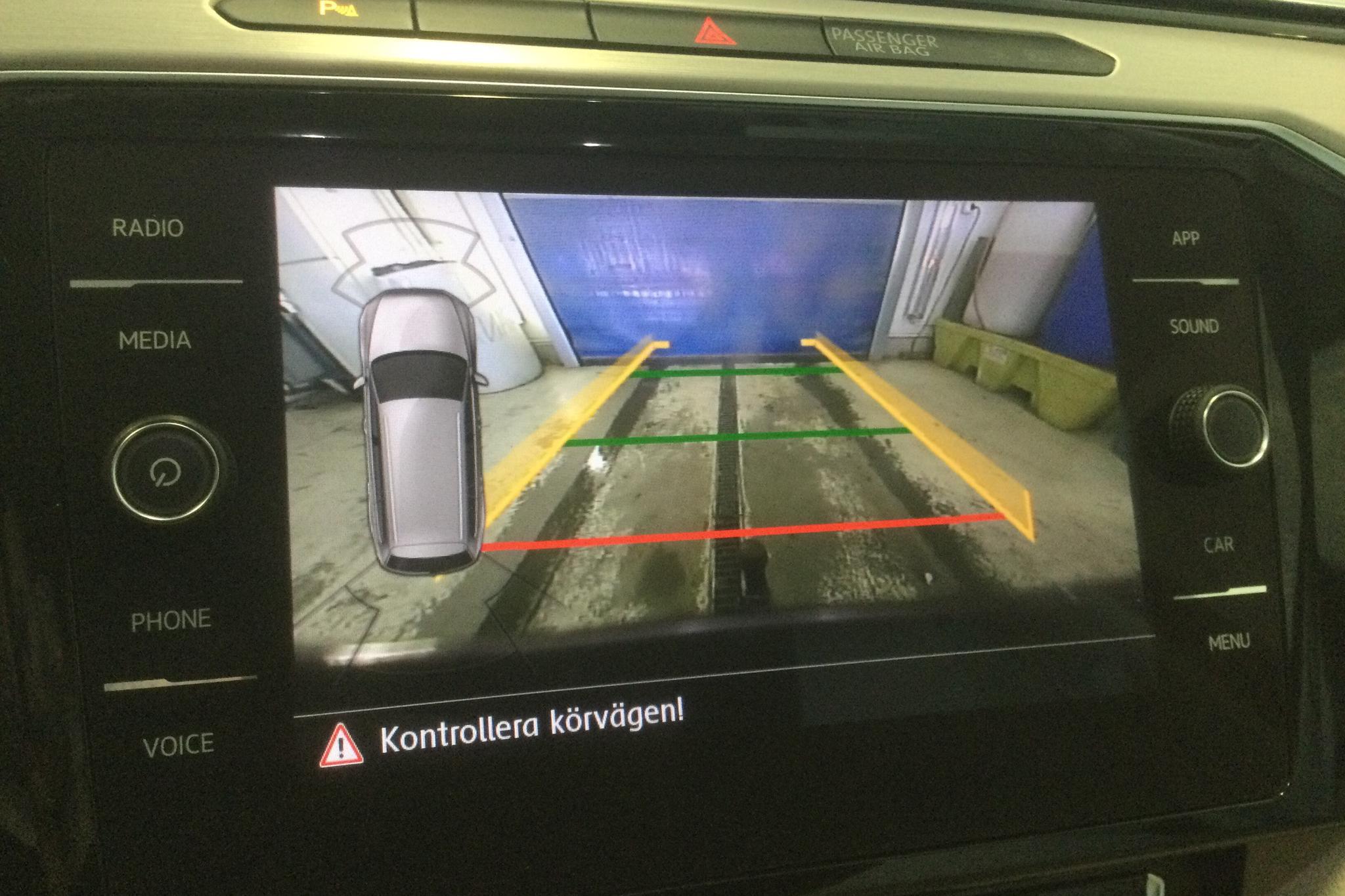 VW Passat Alltrack 2.0 TDI Sportscombi 4MOTION (190hk) - 51 560 km - Automatic - Dark Red - 2018