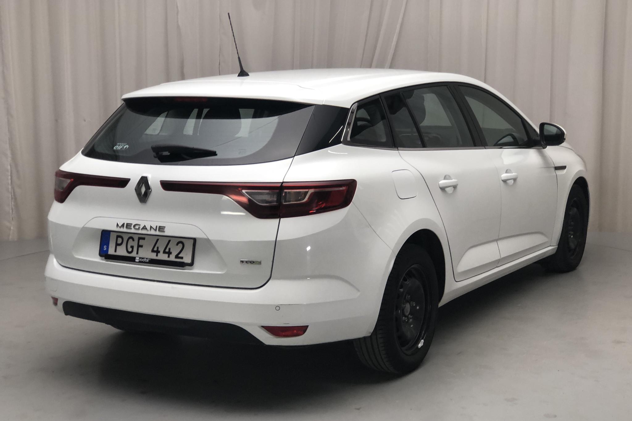 Renault Mégane 1.5 dCi Sport Tourer (110hk) - 115 850 km - Manual - white - 2017