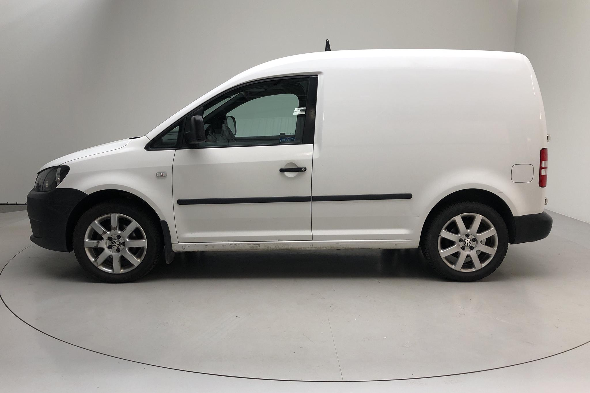 VW Caddy 1.6 TDI Skåp (102hk) - 219 960 km - Automatic - white - 2011