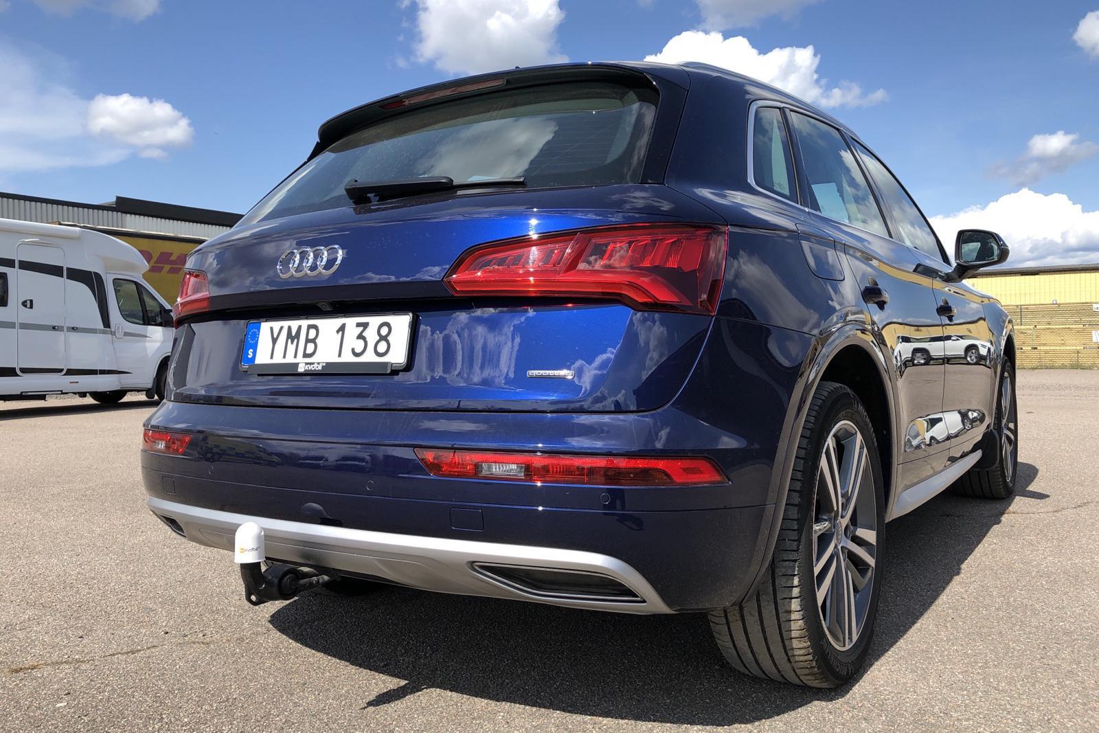 Audi Q5 2.0 TDI quattro (190hk) - 4 975 mil - Automat - blå - 2017