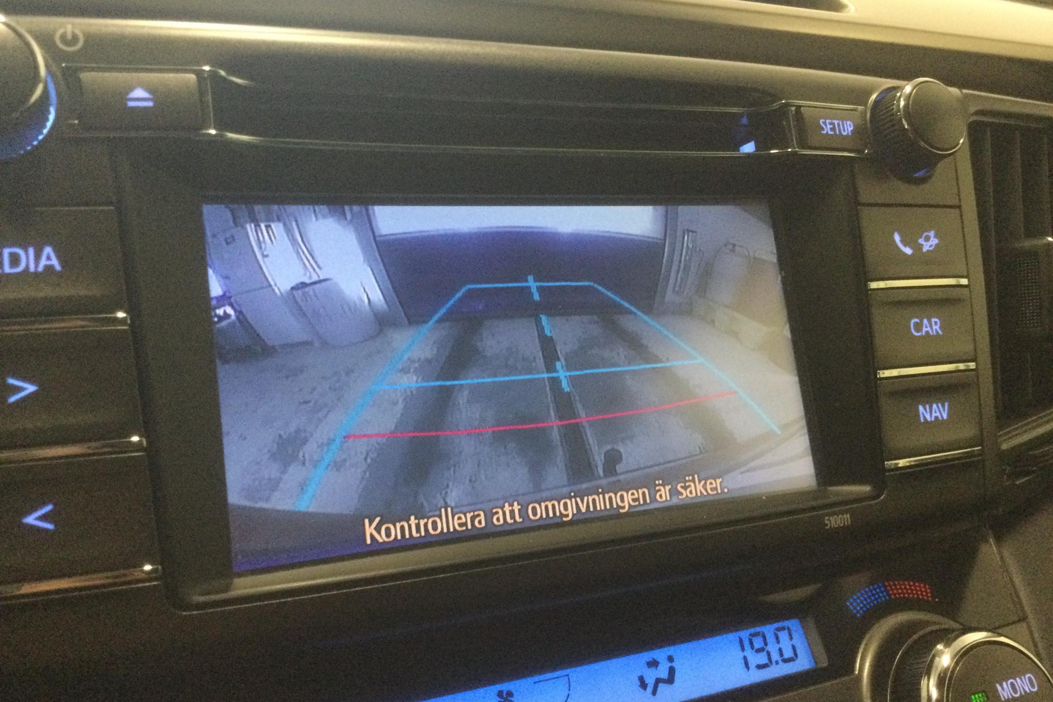 Toyota RAV4 2.0 VVT-i (151hk) - 17 407 mil - Manuell - Dark Red - 2014