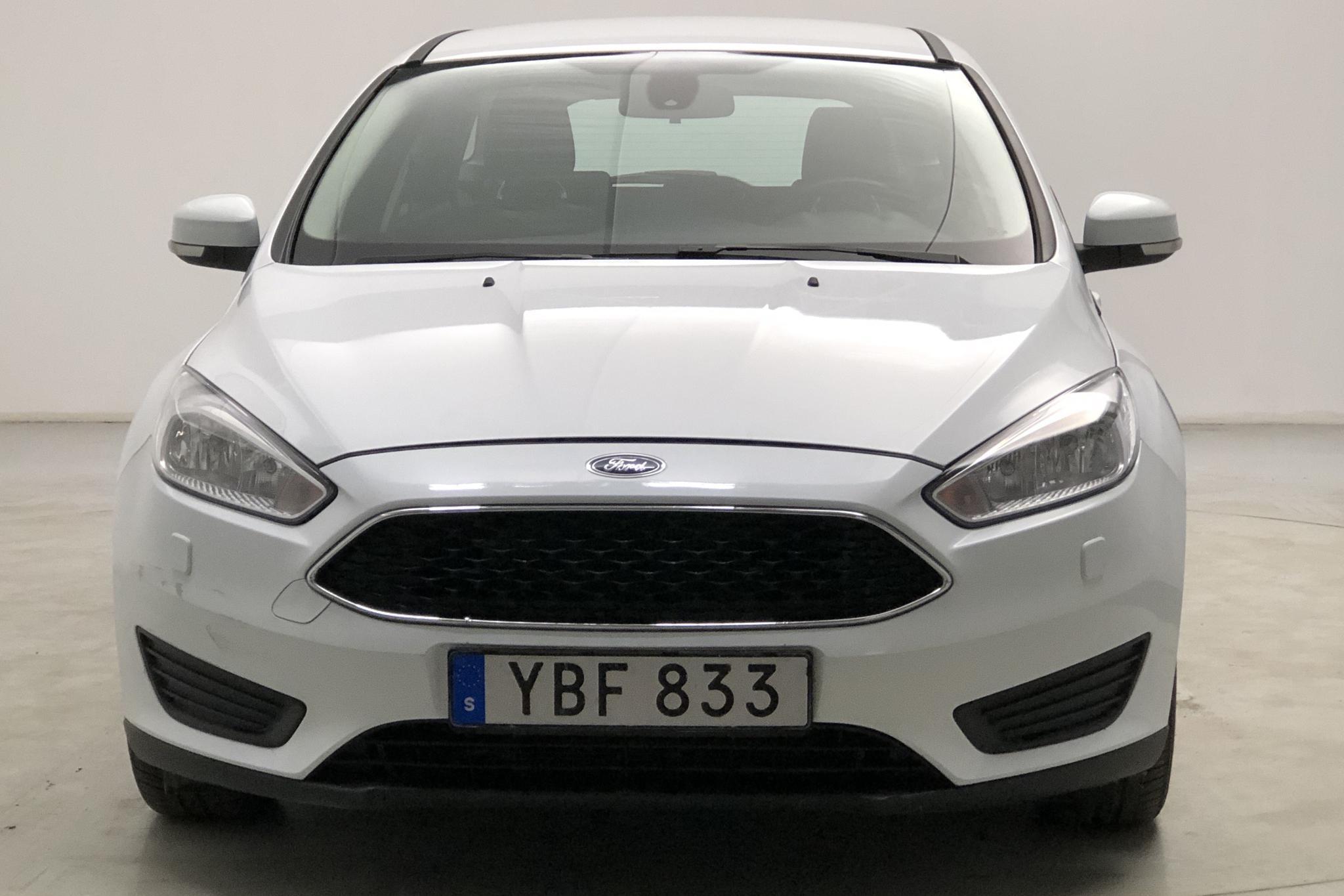 Ford Focus 1.5 TDCi Kombi (95hk) - 266 650 km - Manual - white - 2016