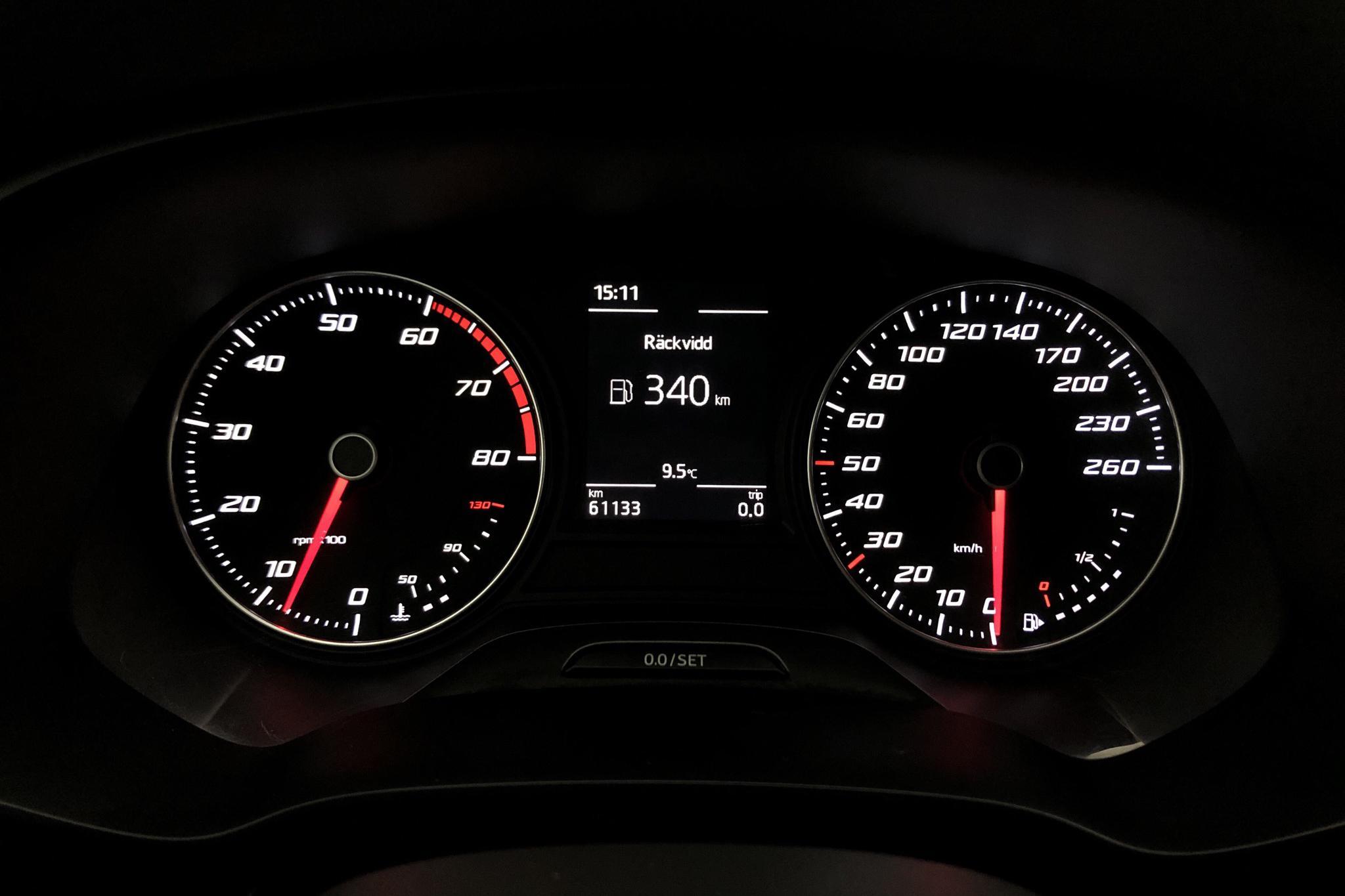 Seat Leon 1.2 TSI 5dr (110hk) - 61 130 km - Manual - Dark Grey - 2016