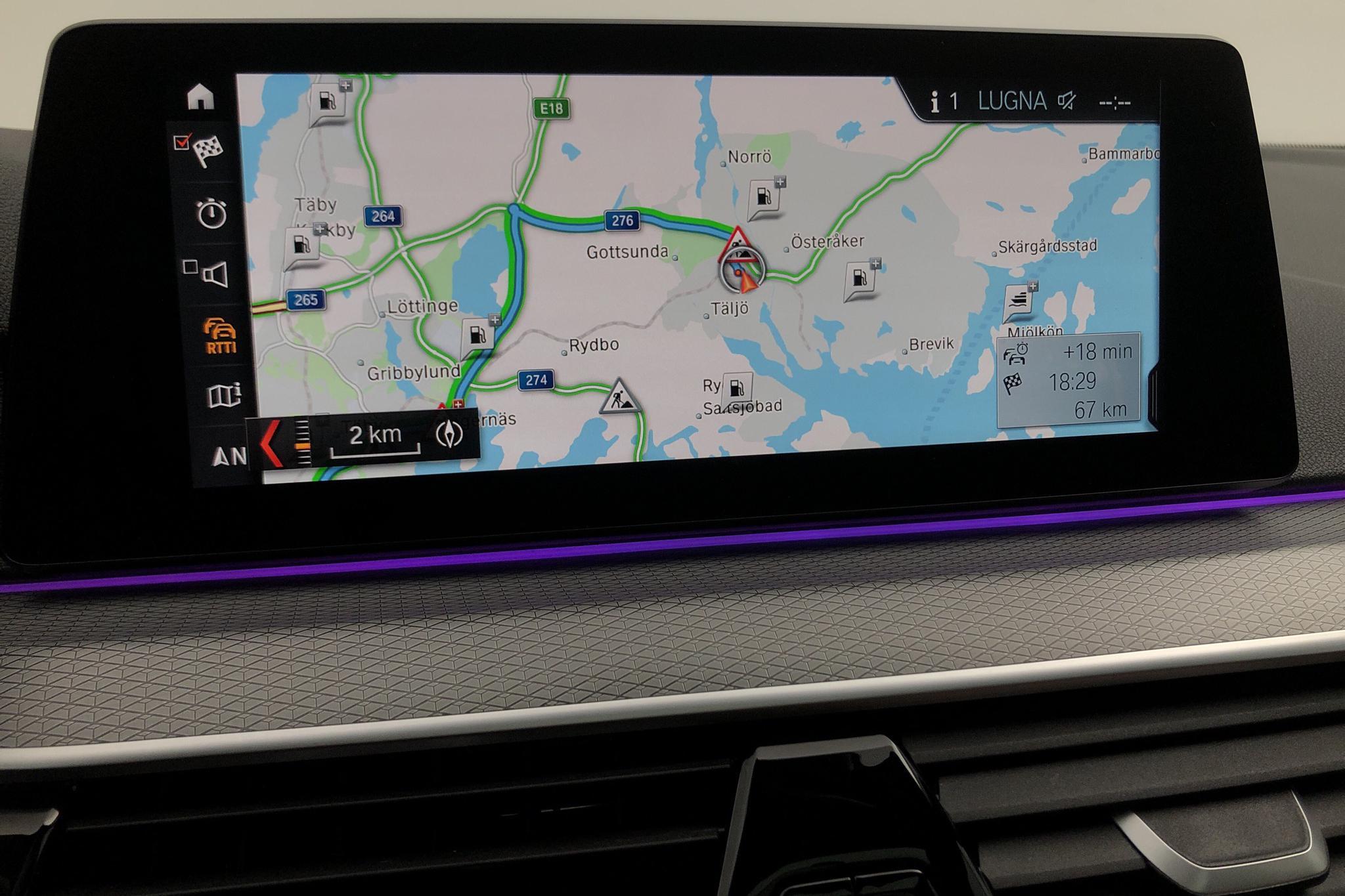 BMW 520d xDrive Sedan, G30 (190hk) - 35 550 km - Automatic - gray - 2019