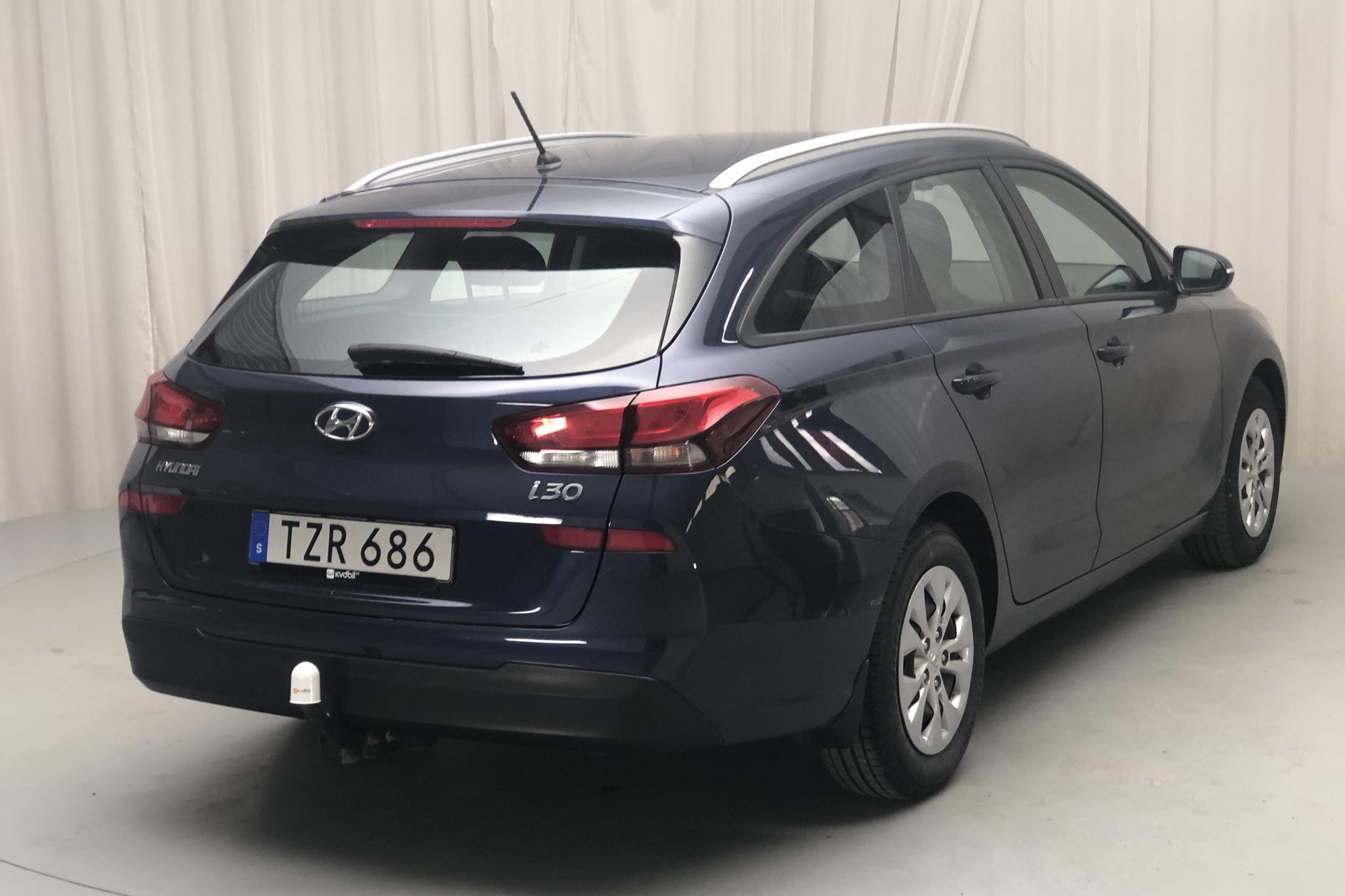 Hyundai i30 1.0 Turbo Kombi (120hk) - 8 178 mil - Manuell - blå - 2018