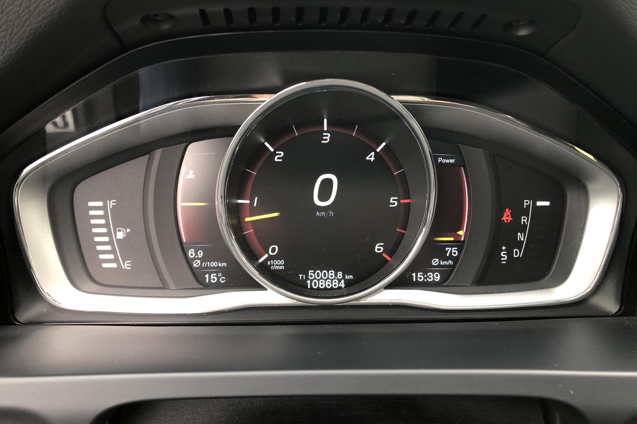 Volvo V60 D4 Cross Country AWD (190hk) - 10 869 mil - Automat - vit - 2016