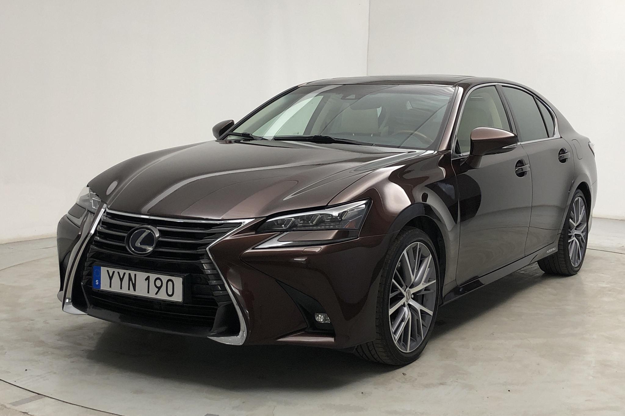 Lexus GS 450h (345hk) - 81 840 km - Automatic - brown - 2018