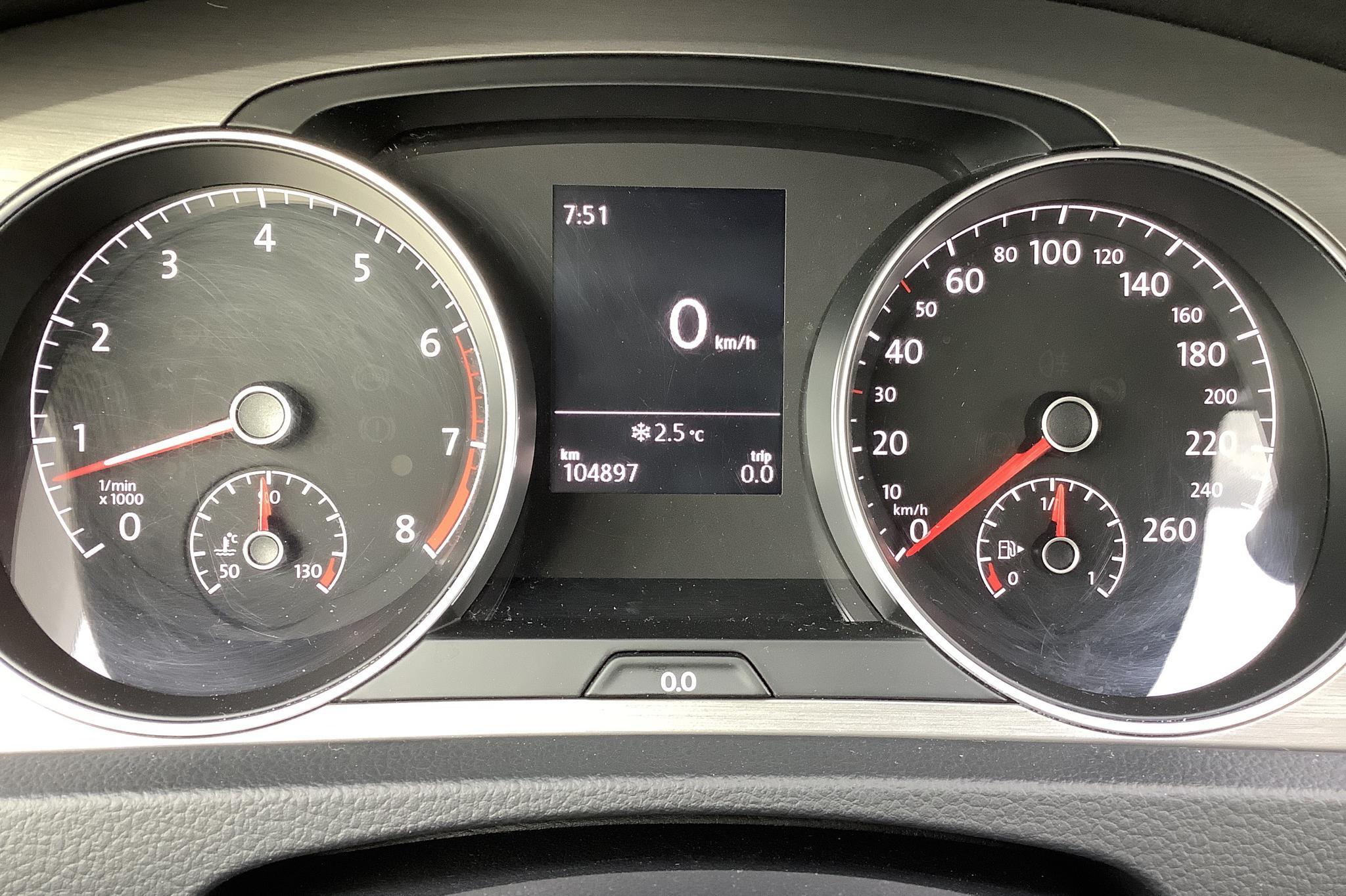 VW Golf VII 1.4 TSI Multifuel 5dr (122hk) - 104 890 km - Manual - blue - 2014