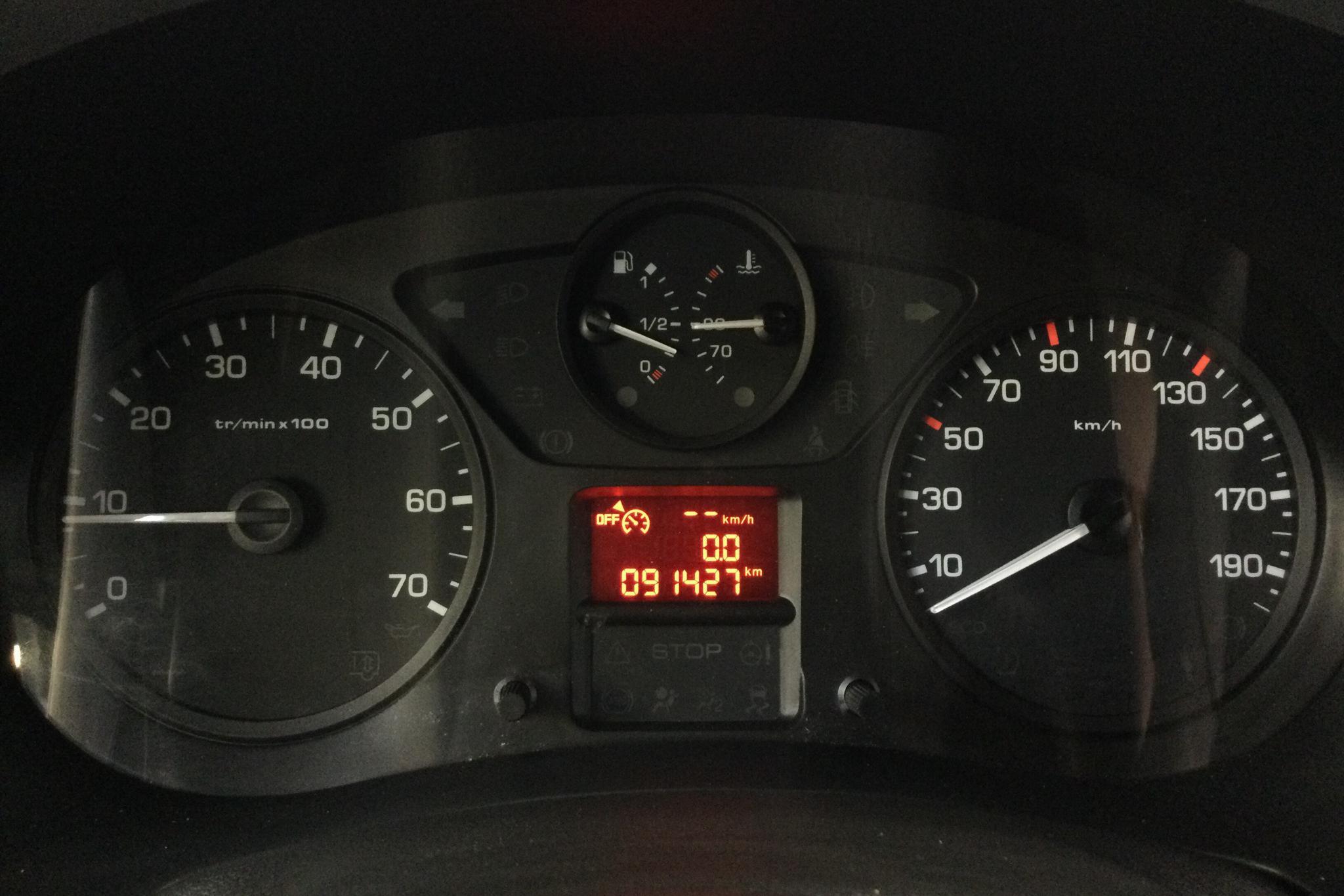 Peugeot Partner 1.6 BlueHDI Skåp (100hk) - 9 142 mil - Manuell - 2018