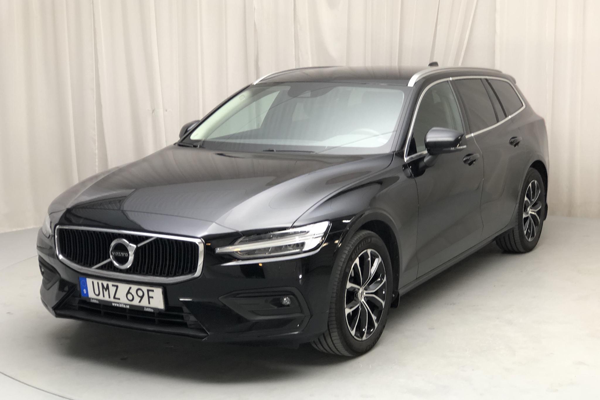 Volvo V60 D3 (150hk) - 4 087 mil - Automat - svart - 2020