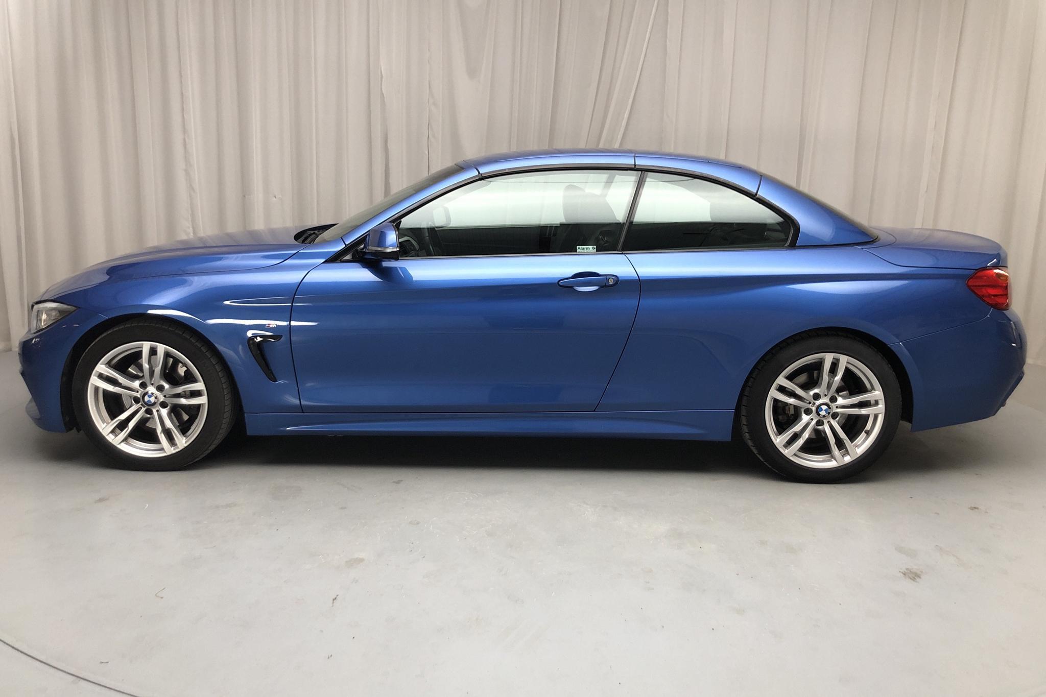 BMW 428i Cabriolet, F33 (245hk) - 87 700 km - Automatic - blue - 2014