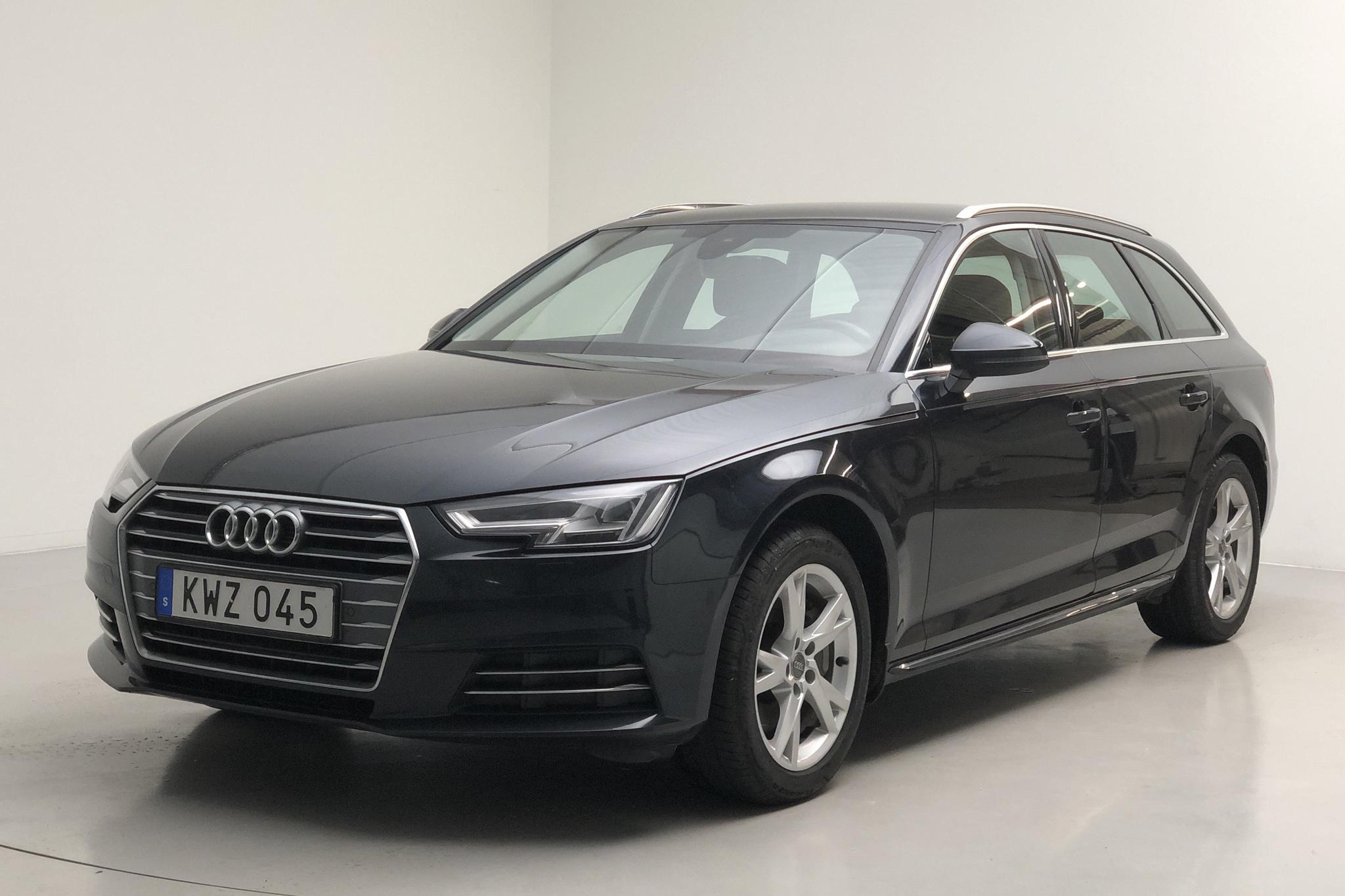 Audi A4 2.0 TDI Avant (190hk) - 129 290 km - Automatic - blue - 2018
