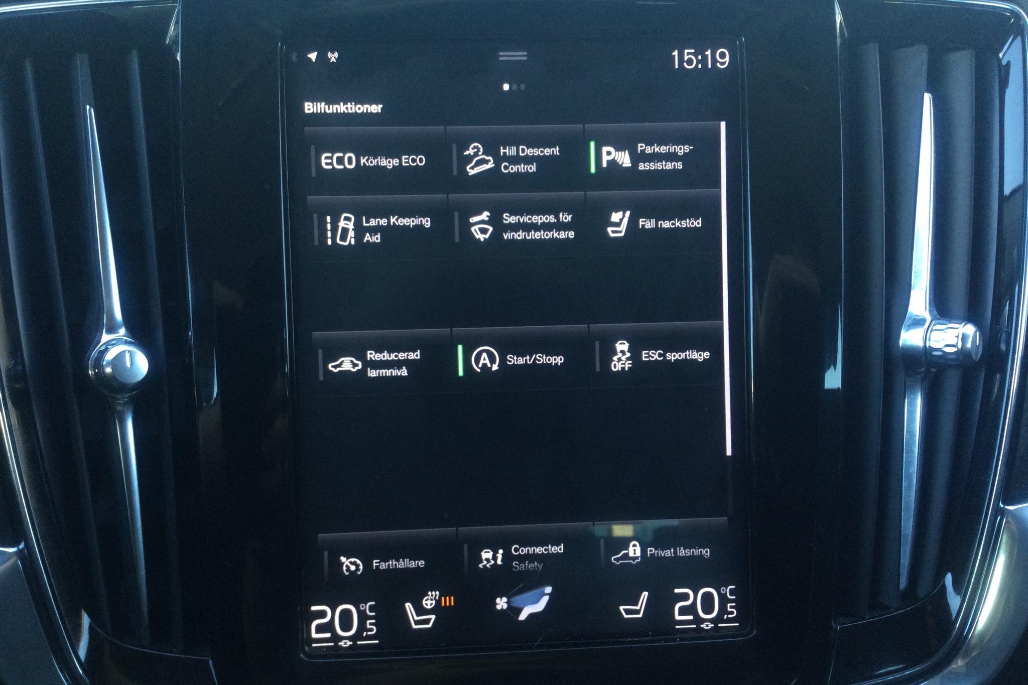Volvo V90 D4 Cross Country AWD (190hk) - 15 730 mil - Automat - silver - 2019