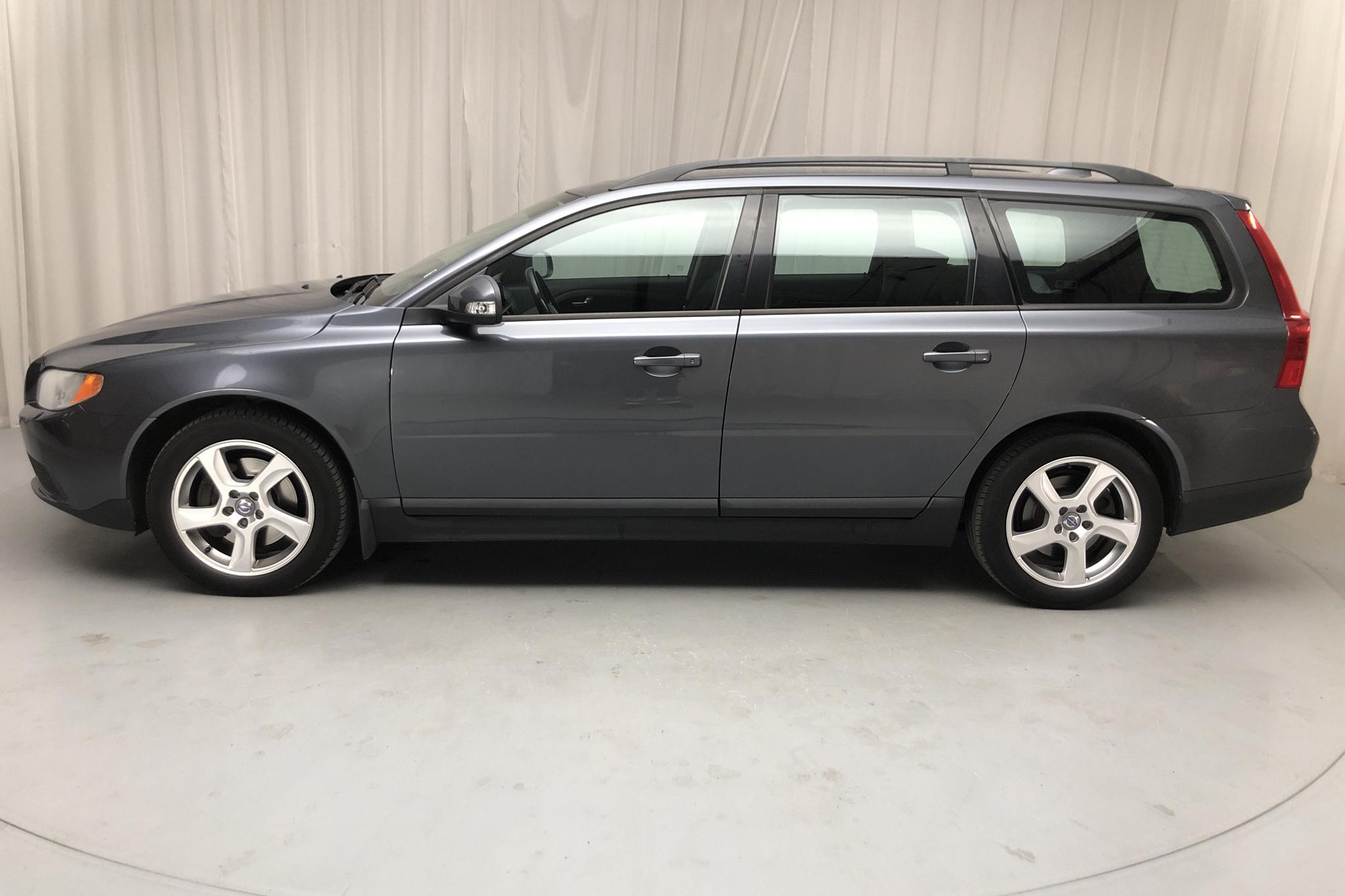 Volvo V70 II 2.4D (163hk) - 236 210 km - Manual - gray - 2008