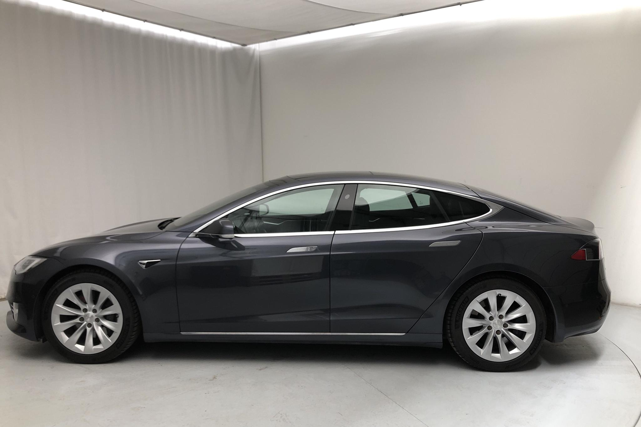 Tesla Model S 75D (525hk) - 110 650 km - Automatic - gray - 2017