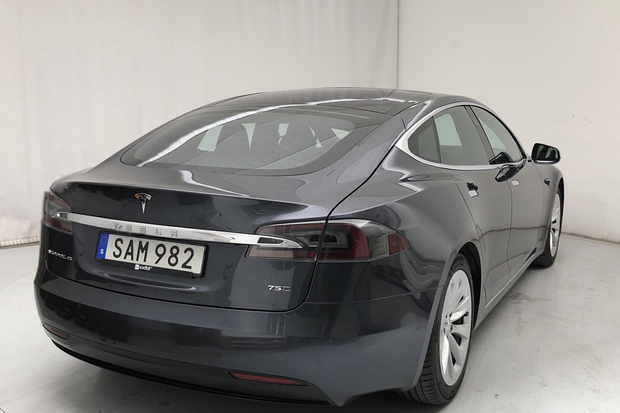 Tesla Model S 75D (525hk) - 11 065 mil - Automat - grå - 2017