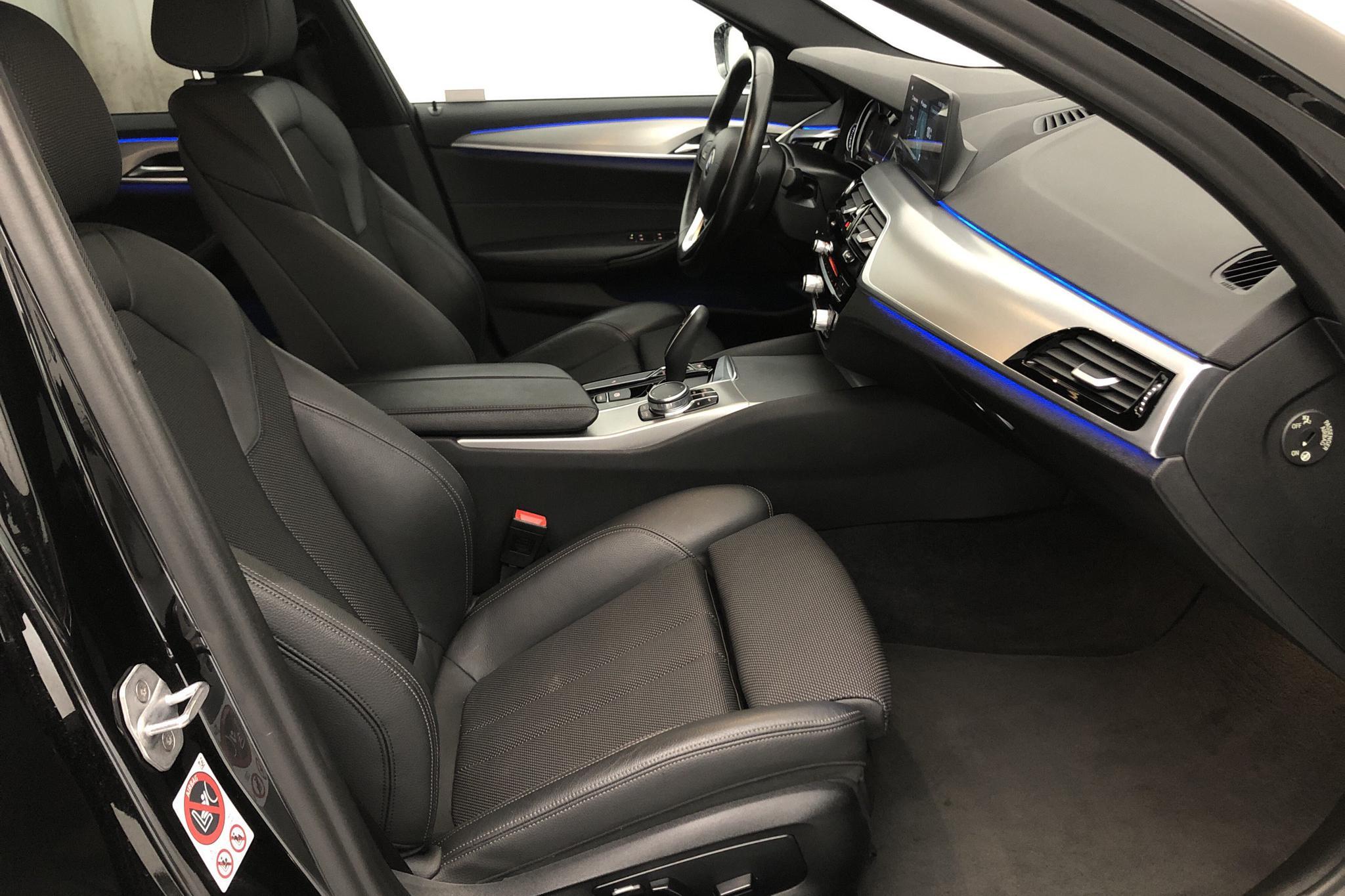 BMW 520d xDrive Sedan, G30 (190hk) - 4 578 mil - Automat - svart - 2017