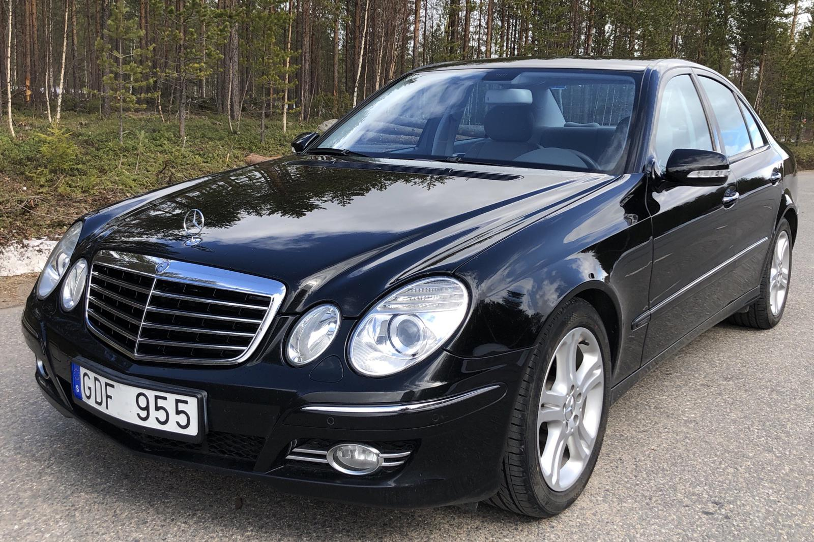 Mercedes E 200 Kompressor W211 (184hk) - 182 350 km - Automatic - black - 2007