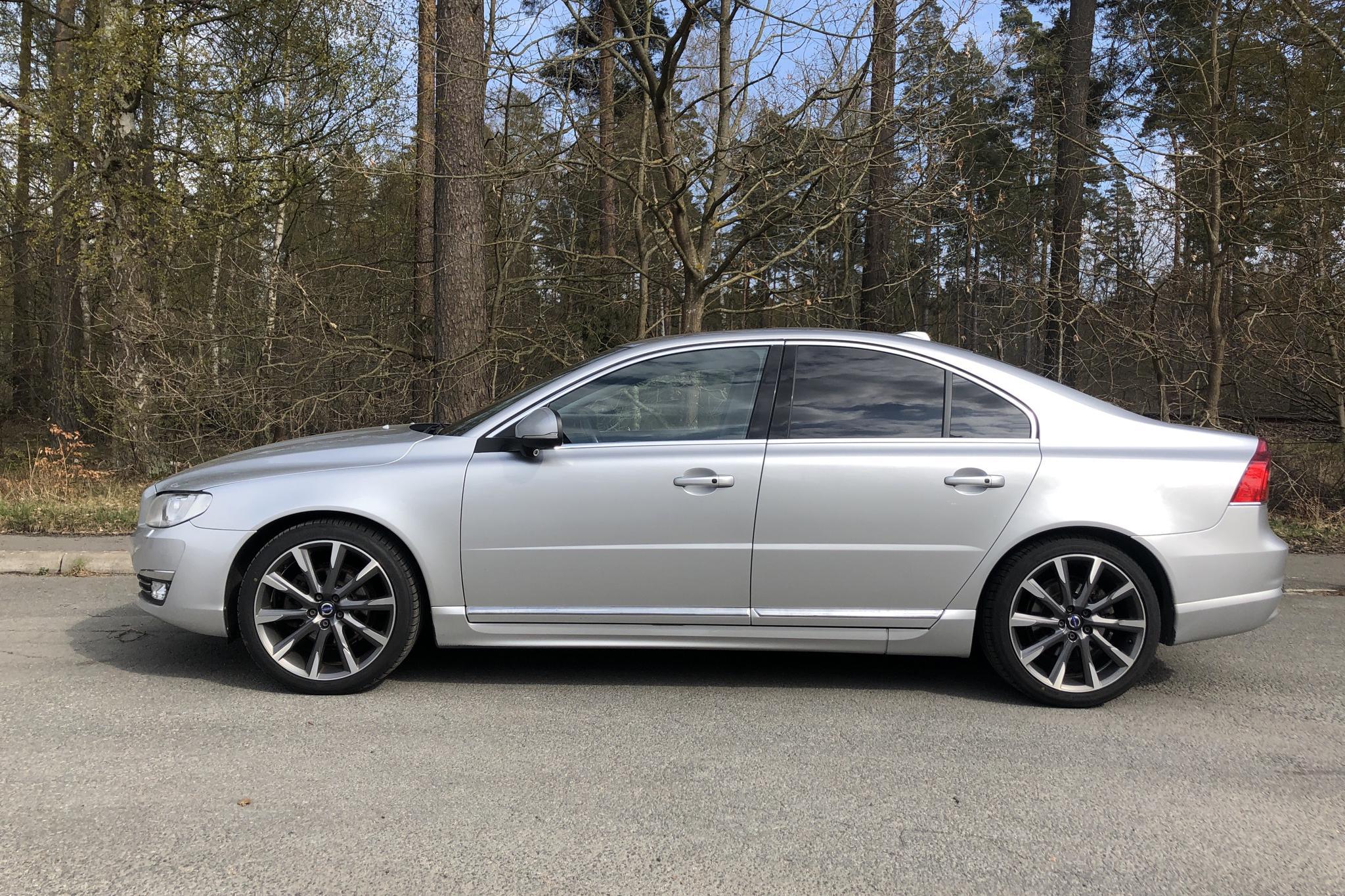 Volvo S80 D4 (181hk) - 206 300 km - Automatic - silver - 2016