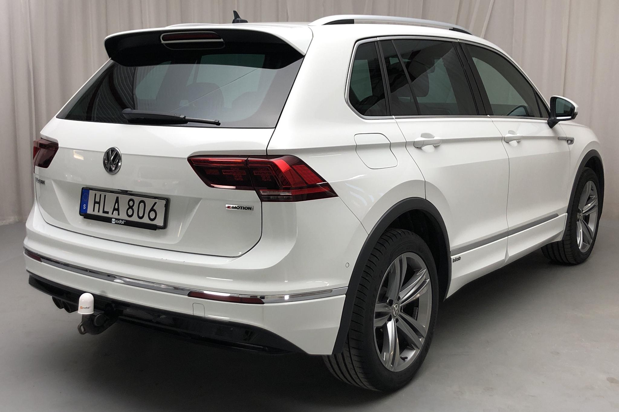 VW Tiguan 2.0 TDI 4MOTION (190hk) - 89 970 km - Automatic - white - 2018
