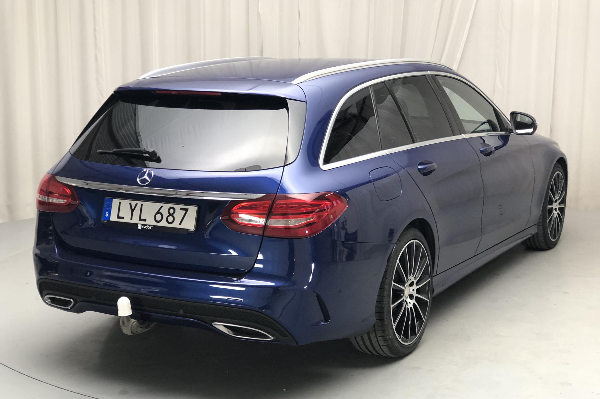 Mercedes C 220 d 4MATIC Kombi S205 (170hk) - 127 650 km - Automatic - blue - 2016