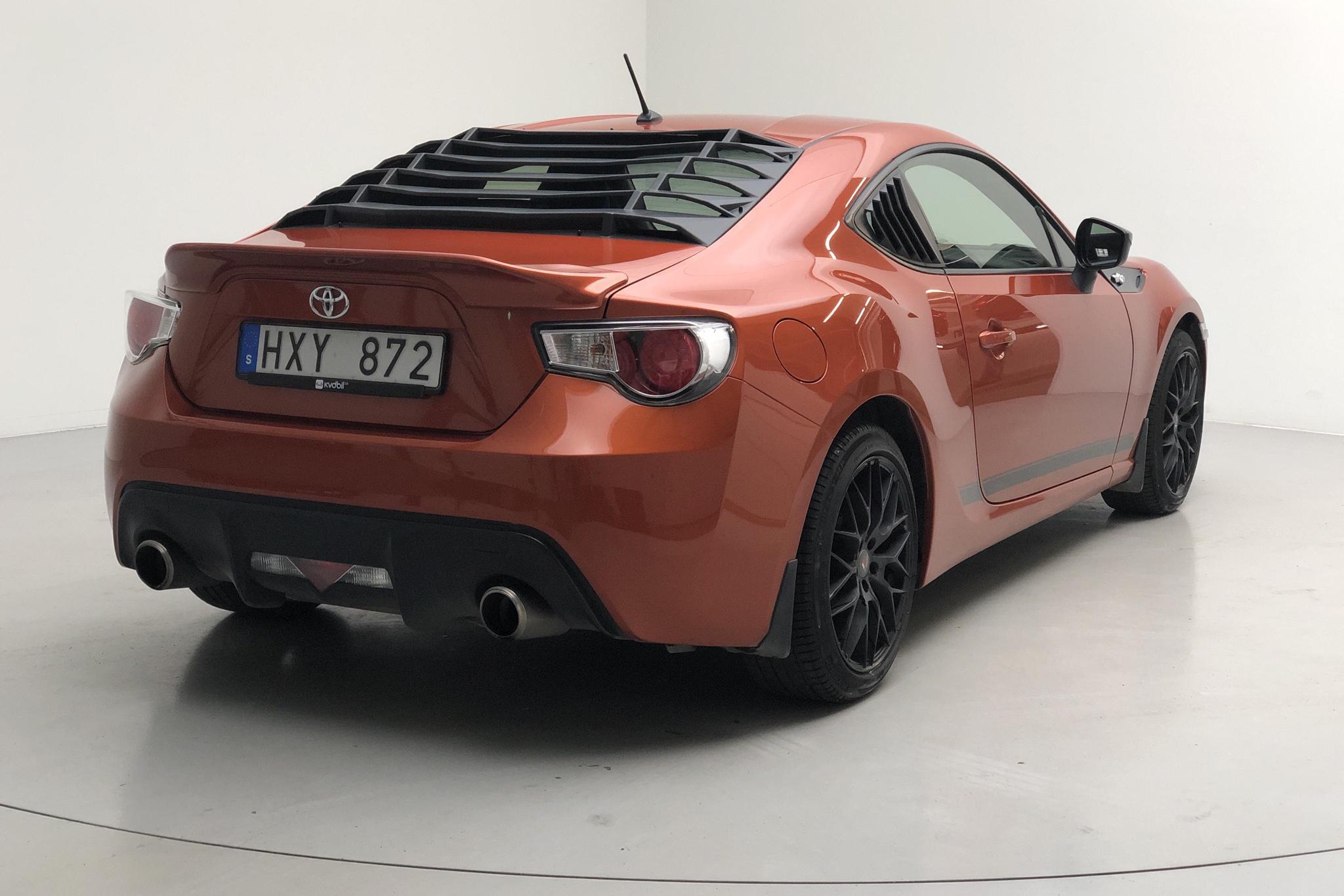 Toyota GT86 (200hk) - 80 180 km - Automatic - orange - 2012
