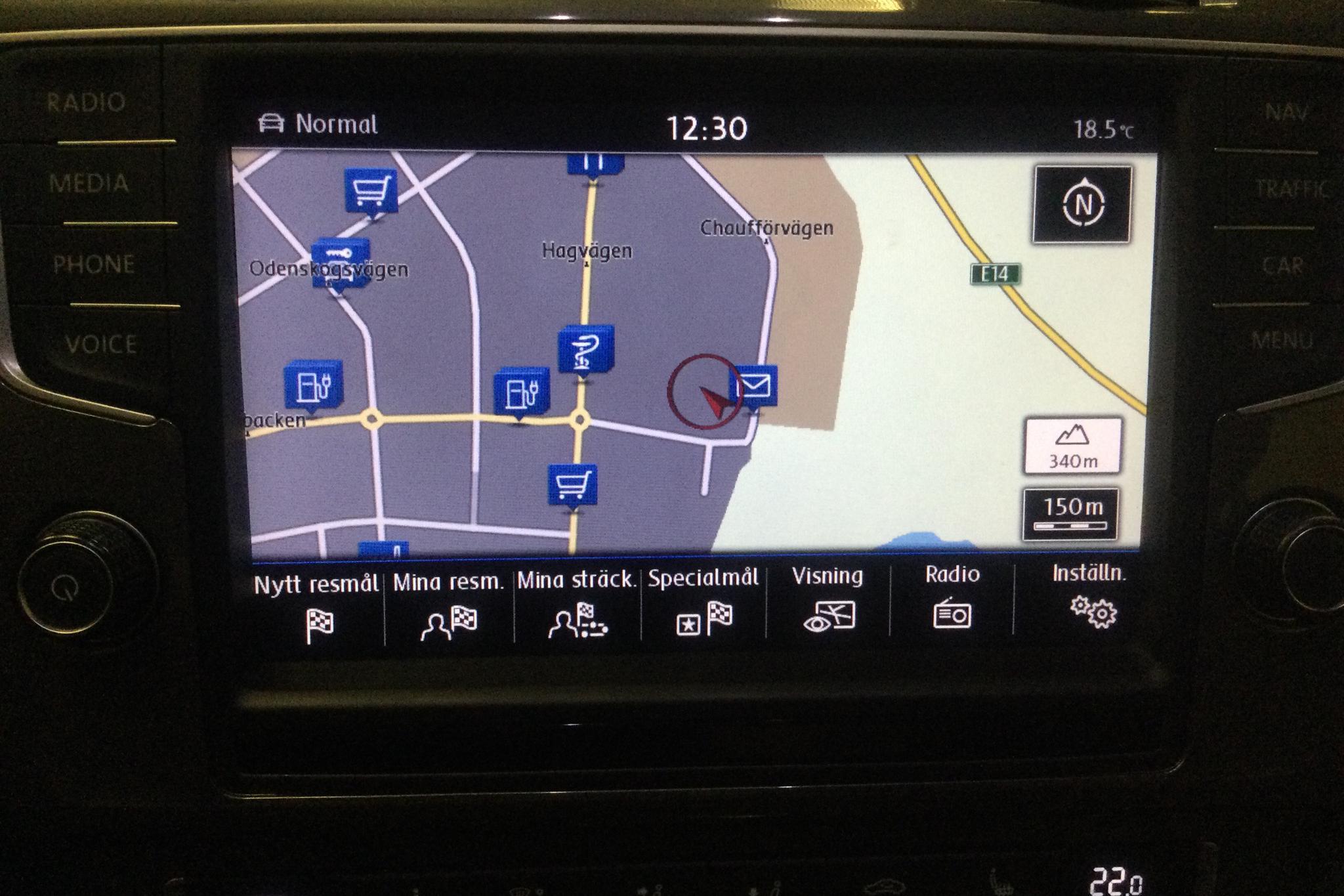 VW e-Golf VII 5dr (115hk) - 10 301 mil - Automat - silver - 2016