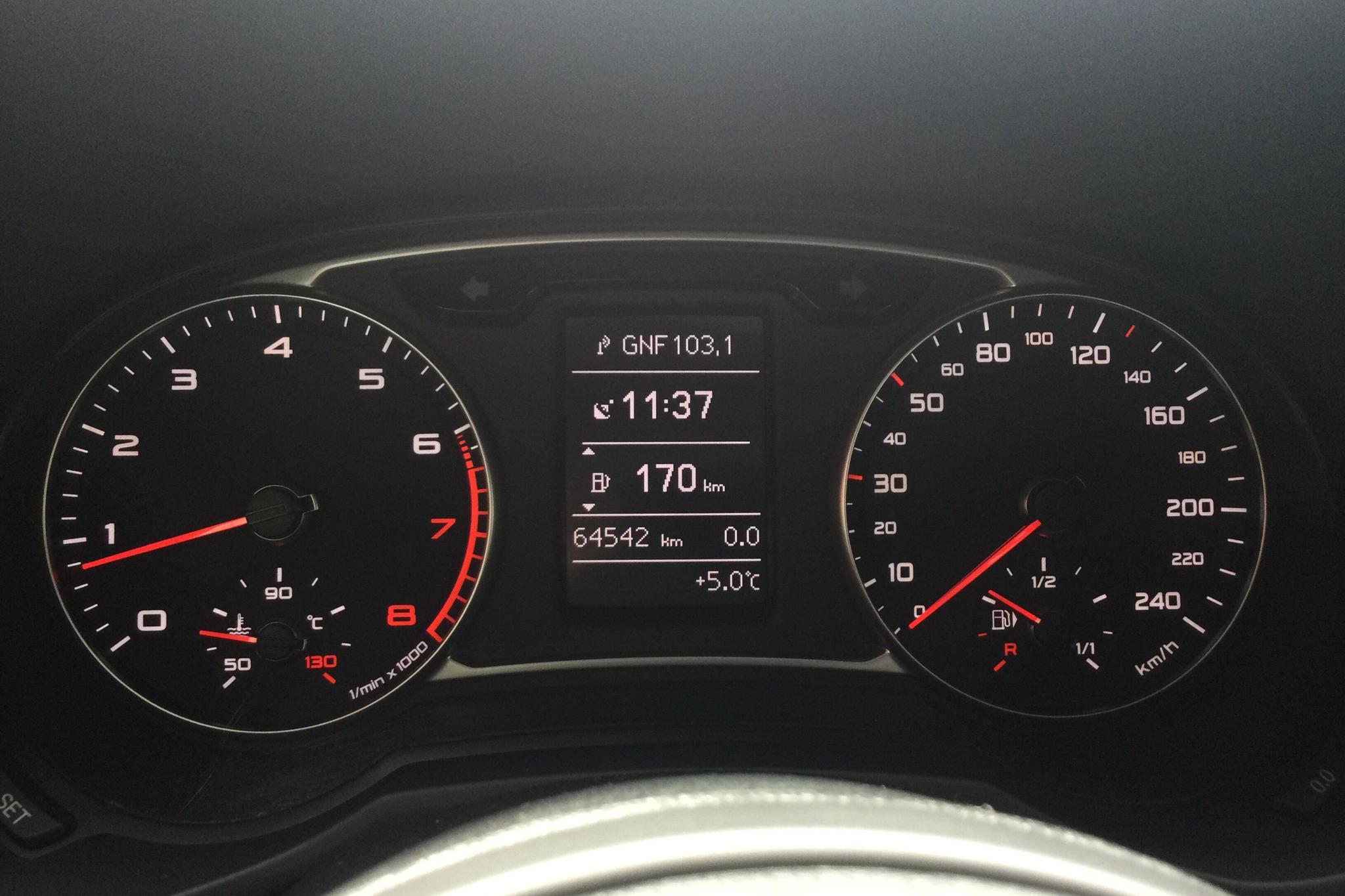 Audi A1 1.2 TFSI Sportback (86hk) - 64 540 km - Manual - silver - 2014