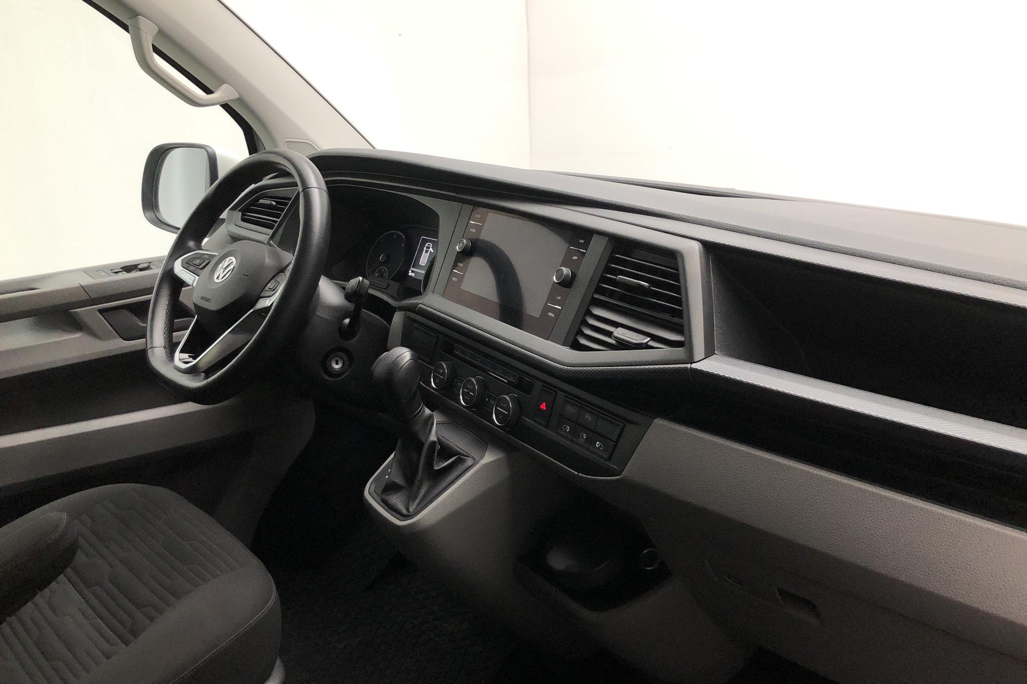 VW Caravelle T6 2.0 TDI BMT (150hk) - 18 740 km - Automatic - white - 2020