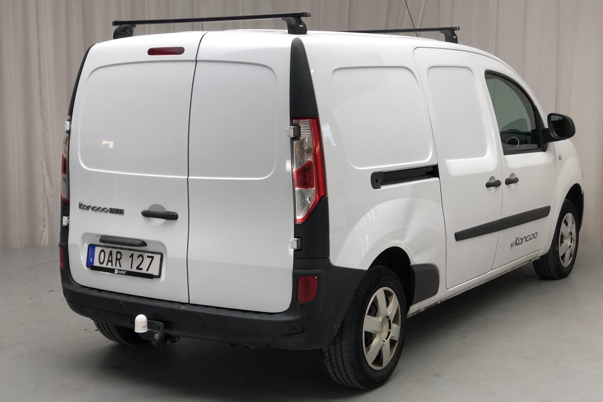 Renault Kangoo 1.5 dCi Maxi Skåp (110hk) - 6 012 mil - Manuell - vit - 2016