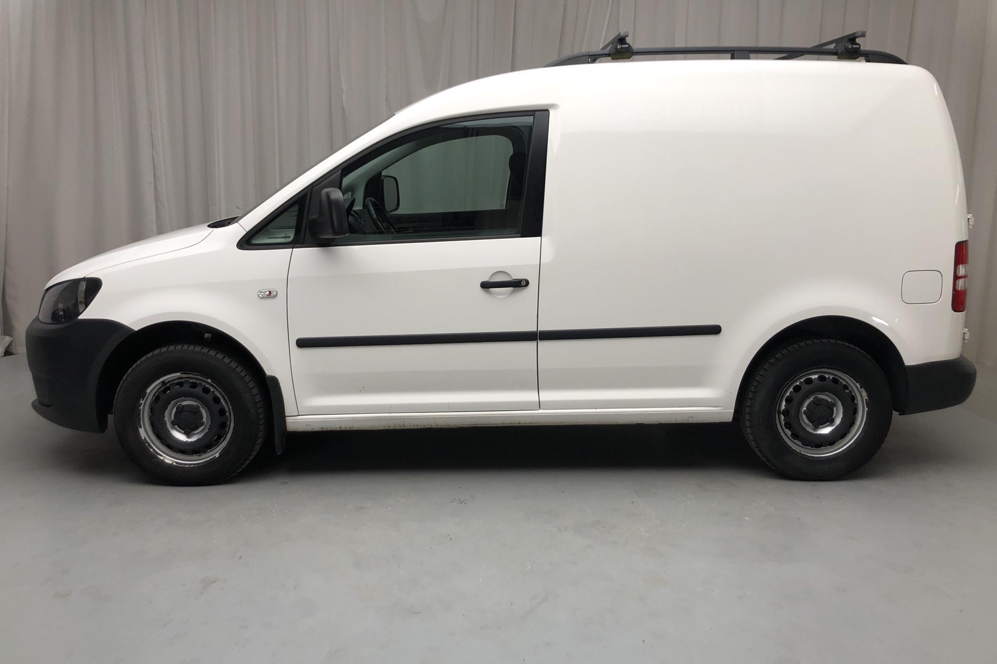 VW Caddy 1.6 TDI Skåp (102hk) - 5 517 mil - Manuell - vit - 2014