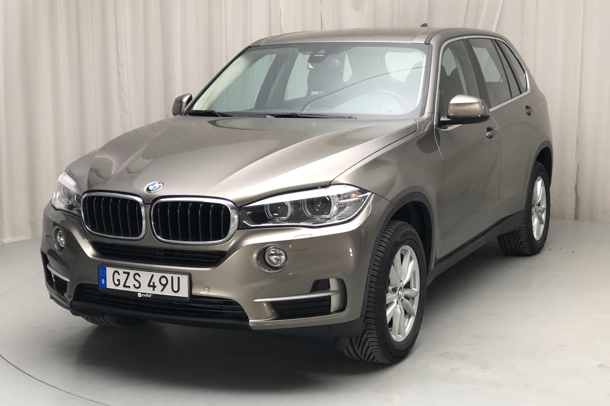 BMW X5 xDrive25d, F15 (231hk) - 6 524 mil - Automat - grå - 2017